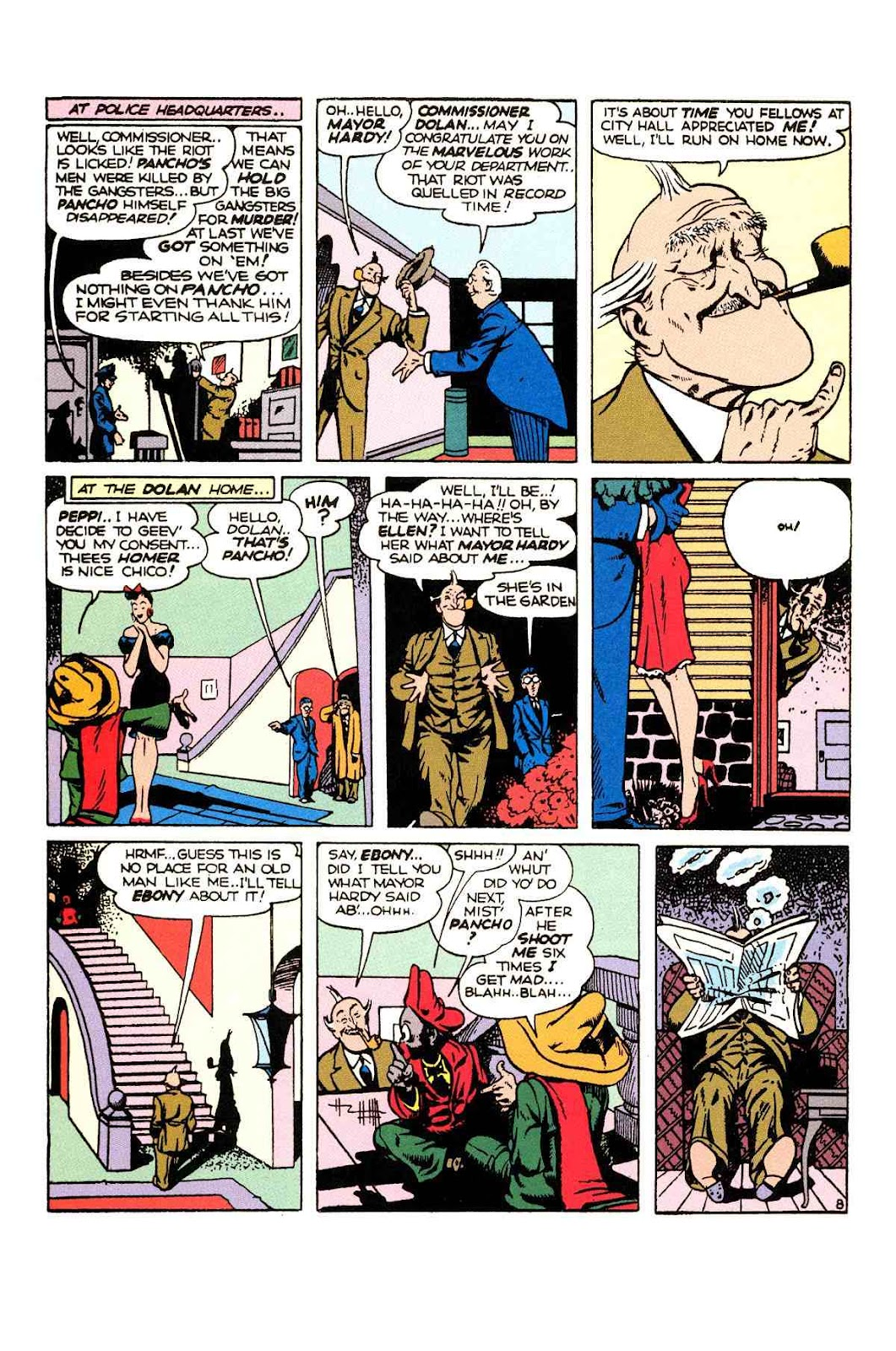 Read online Will Eisner's The Spirit Archives comic -  Issue # TPB 2 (Part 1) - 24