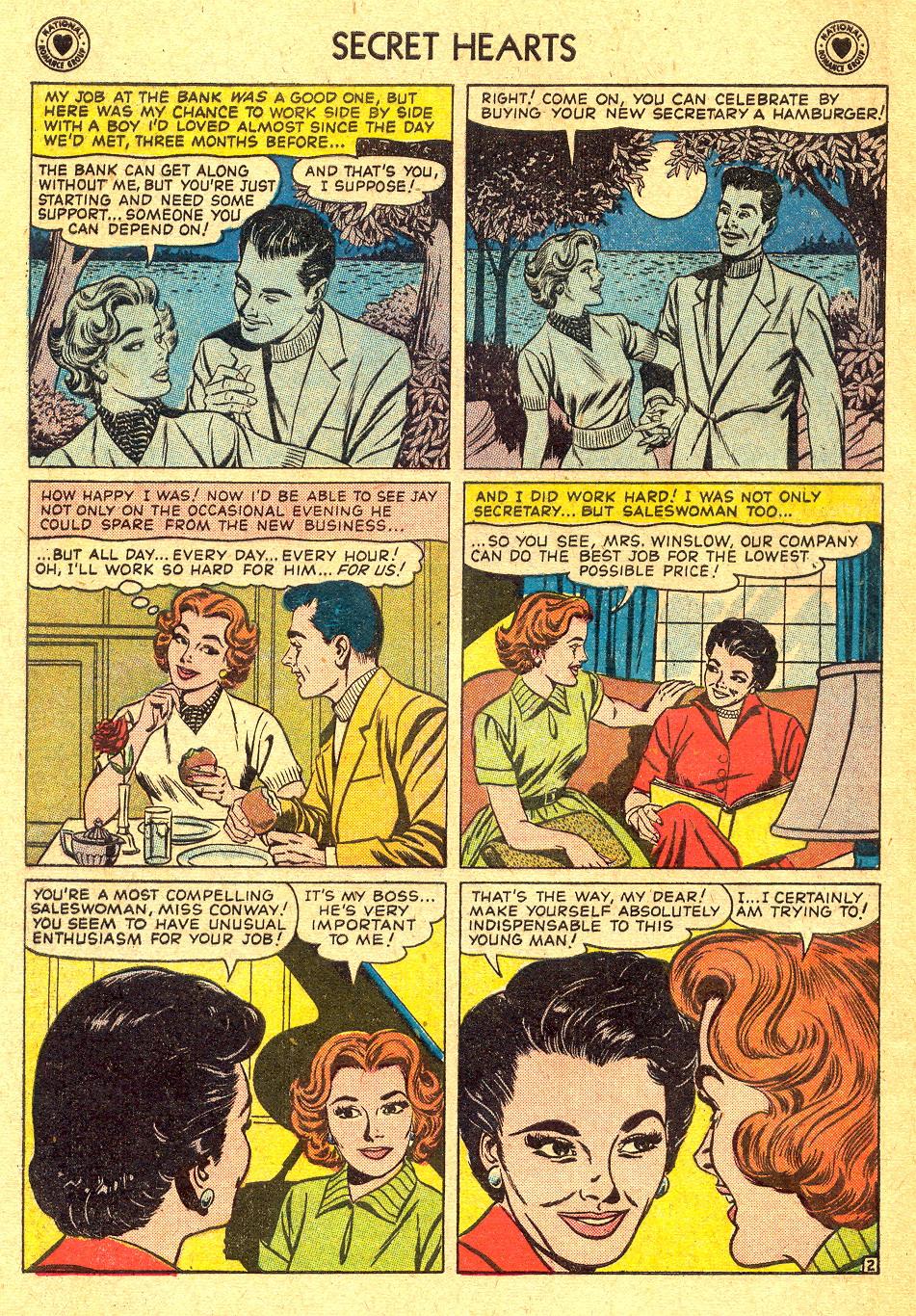 Read online Secret Hearts comic -  Issue #45 - 4