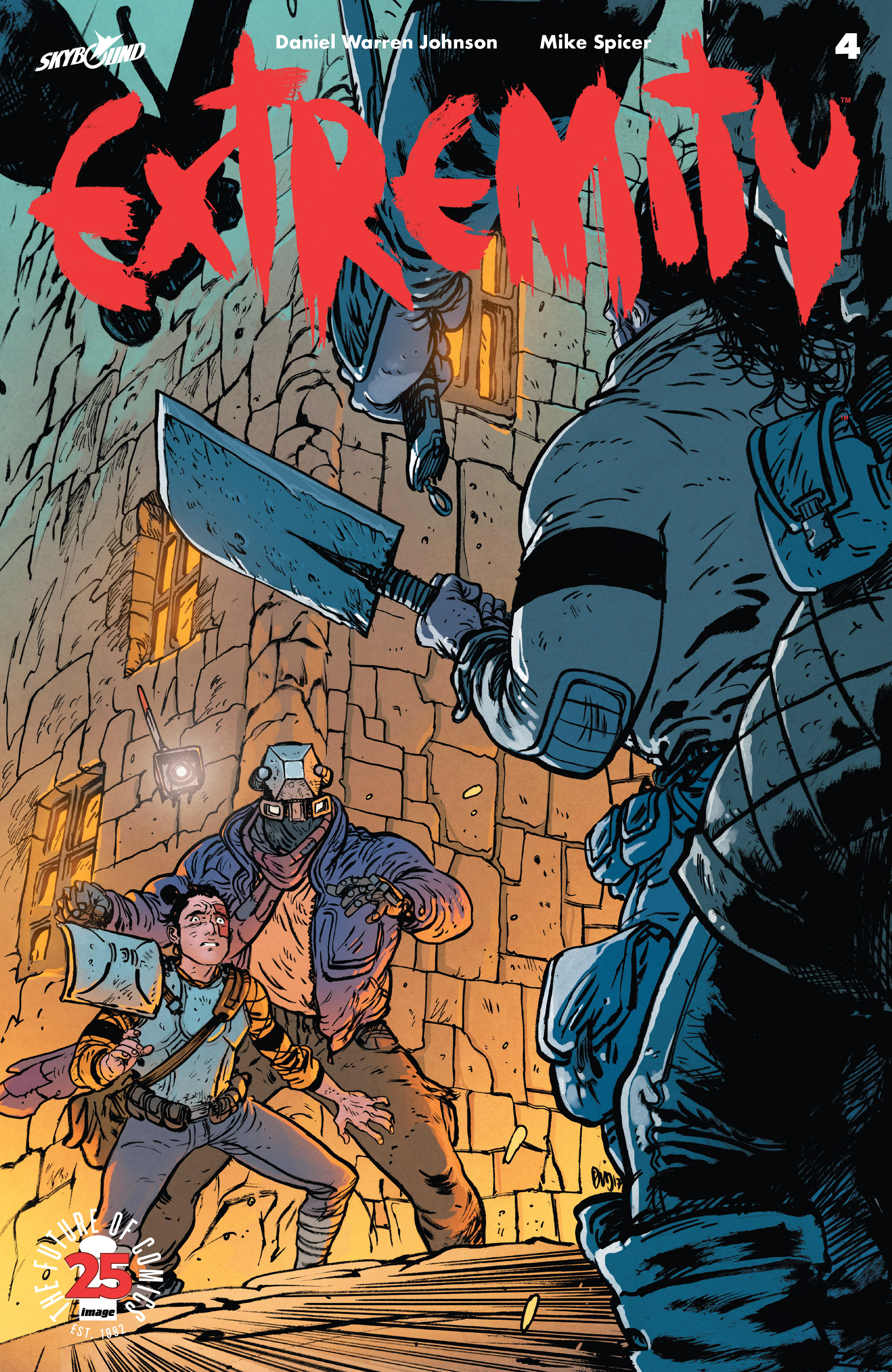 Read online Extremity comic -  Issue #4 - 1