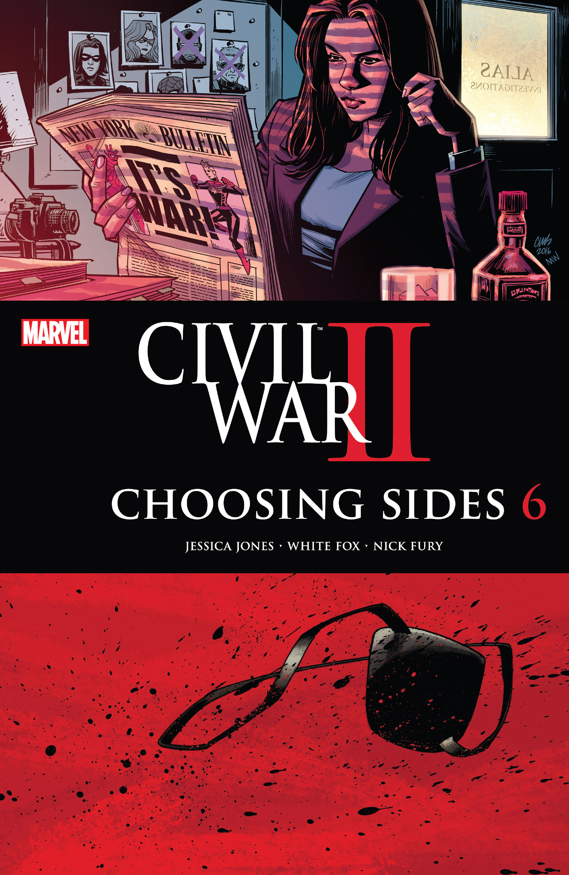 Civil War II: Choosing Sides 6 Page 1