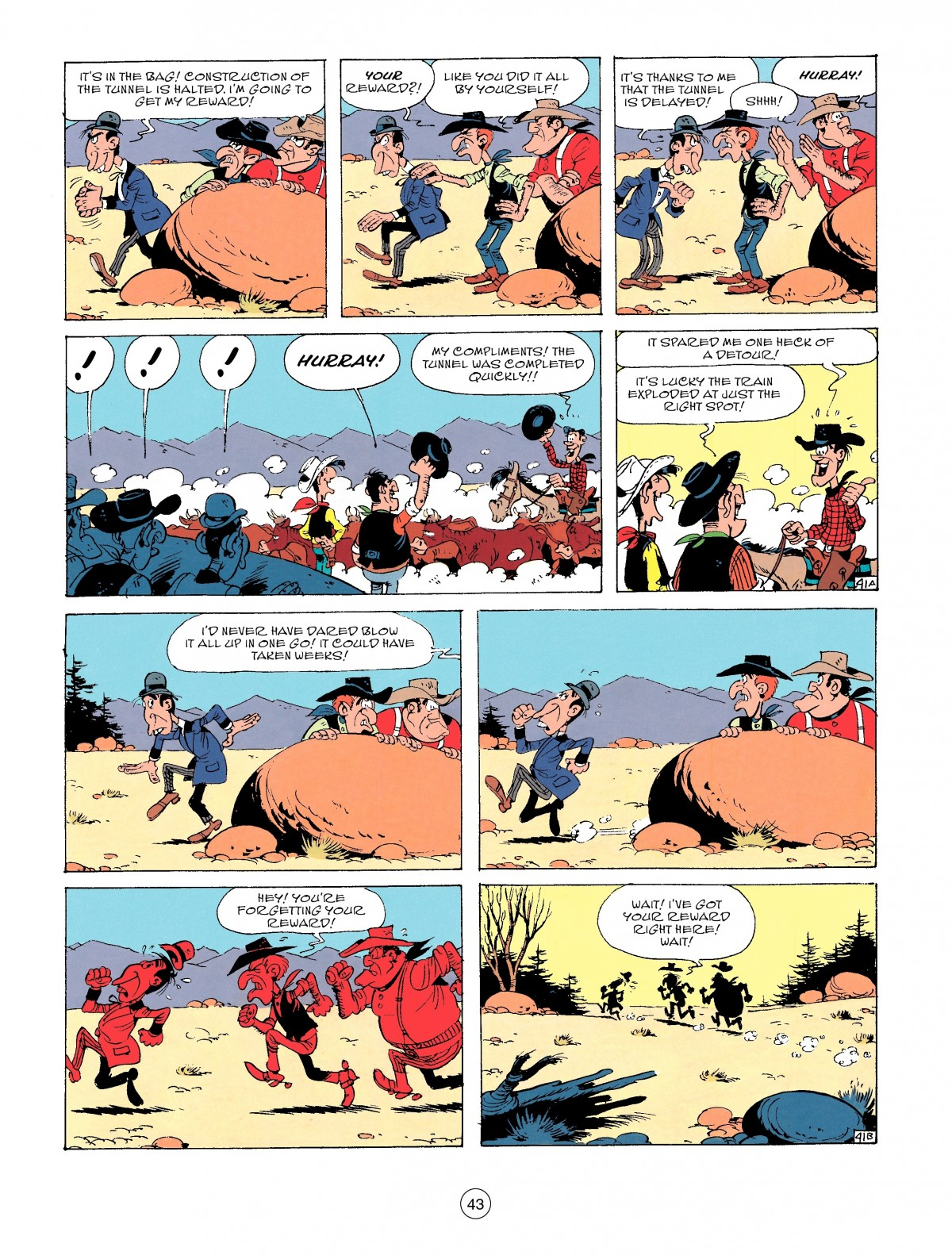 Read online A Lucky Luke Adventure comic -  Issue #53 - 43