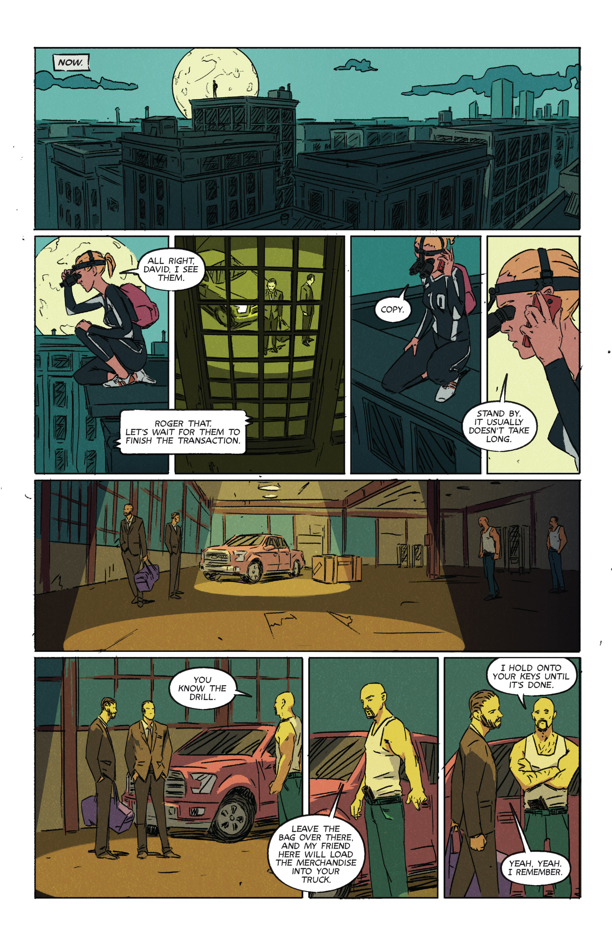 Read online Night Owl Society comic -  Issue #2 - 4