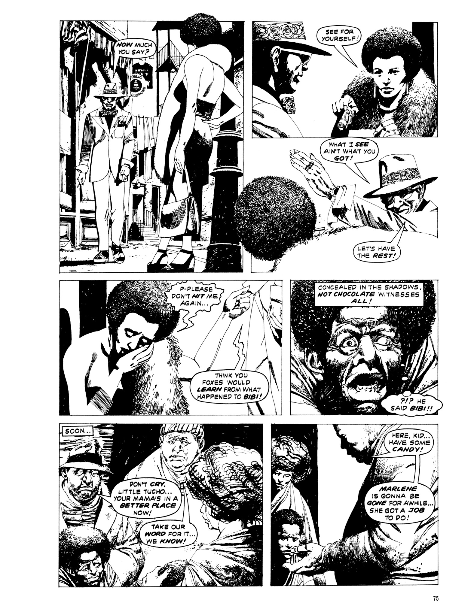 Read online Eerie Archives comic -  Issue # TPB 20 - 75