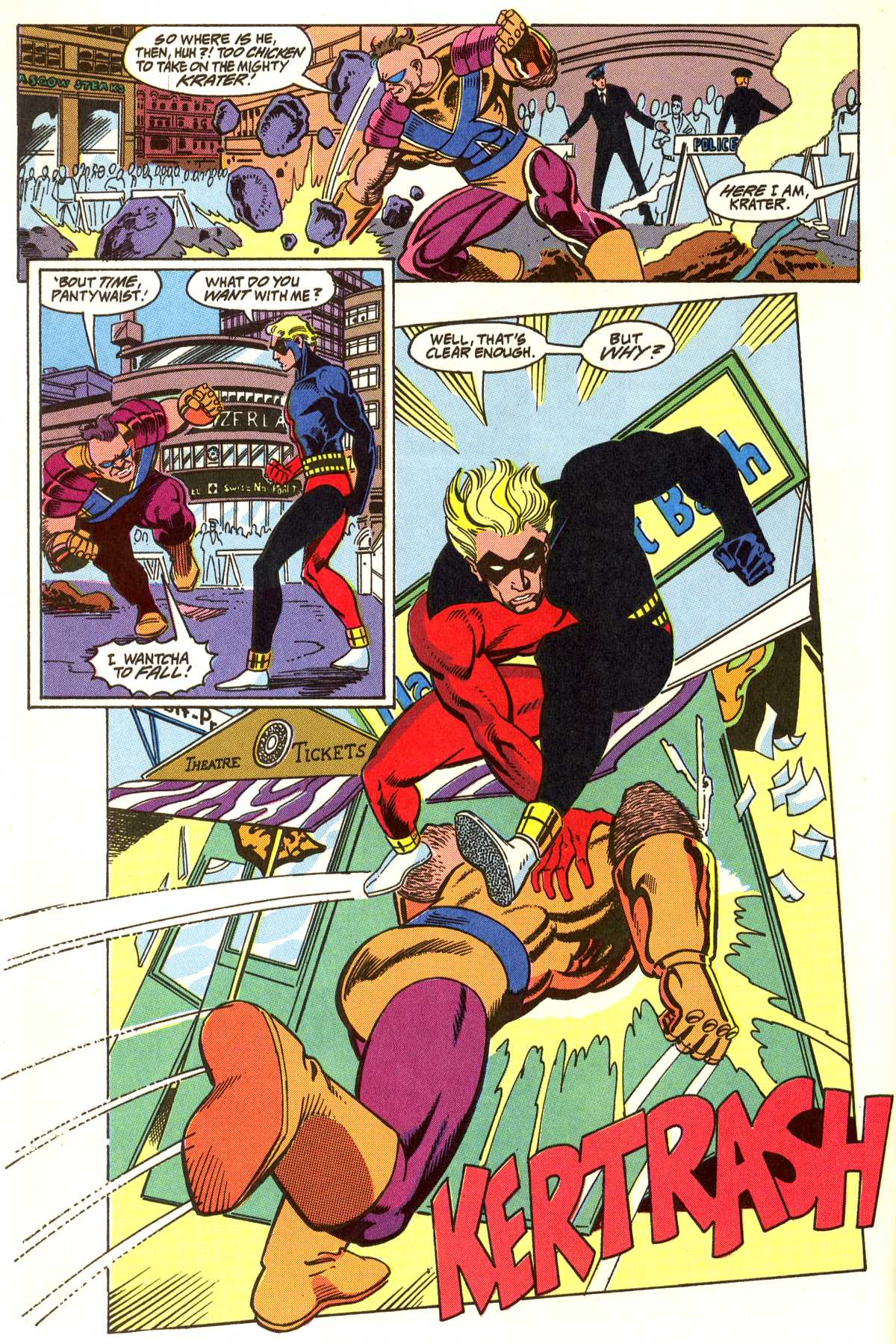 Read online Peter Cannon--Thunderbolt (1992) comic -  Issue #5 - 15