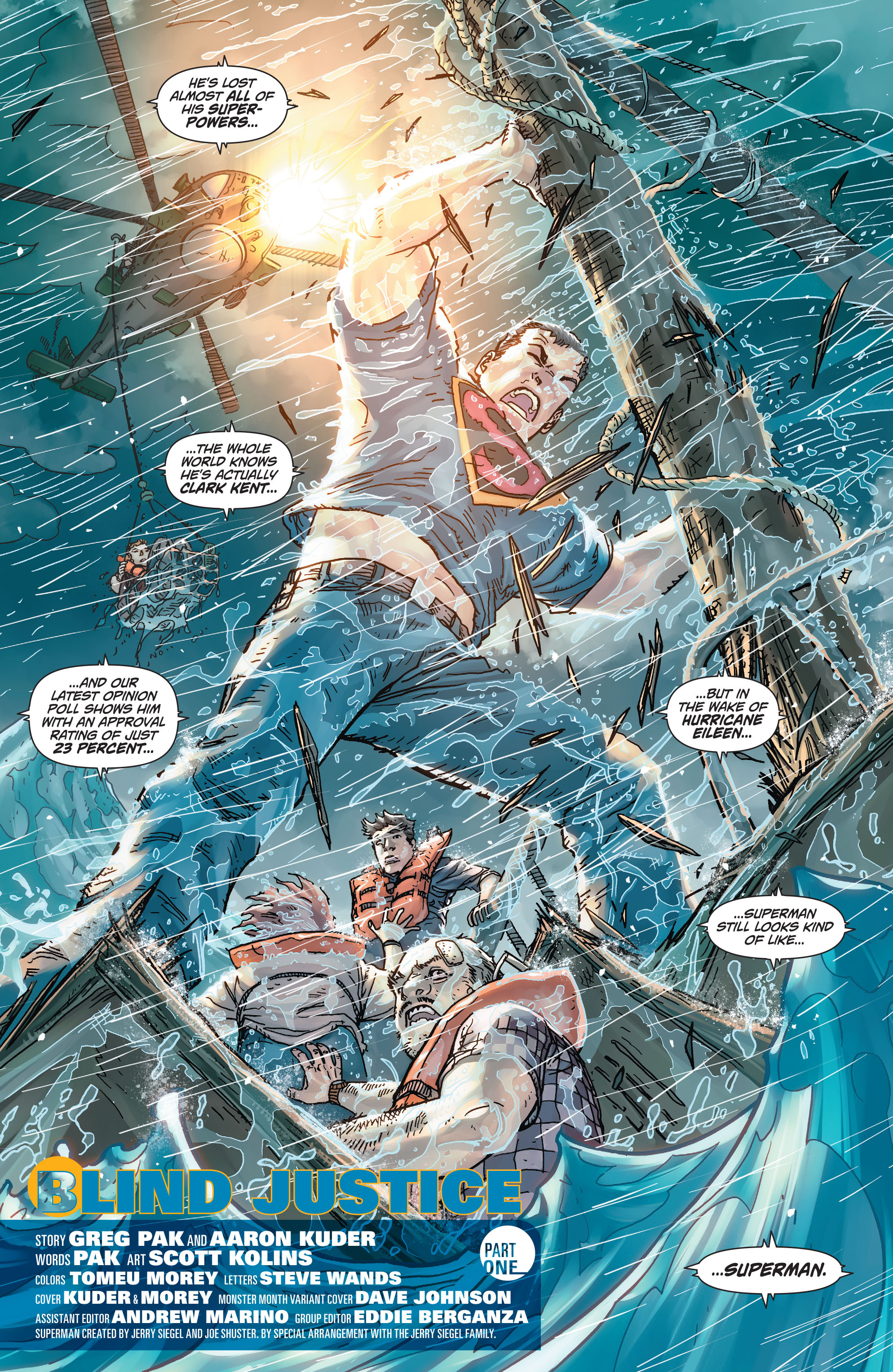 Read online Action Comics (2011) comic -  Issue #45 - 4