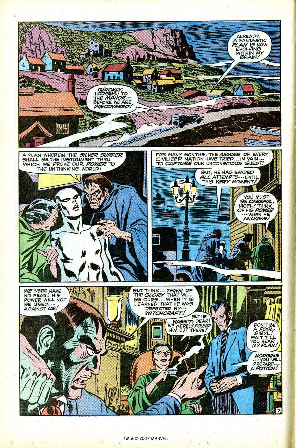 Read online Silver Surfer (1968) comic -  Issue #12 - 12