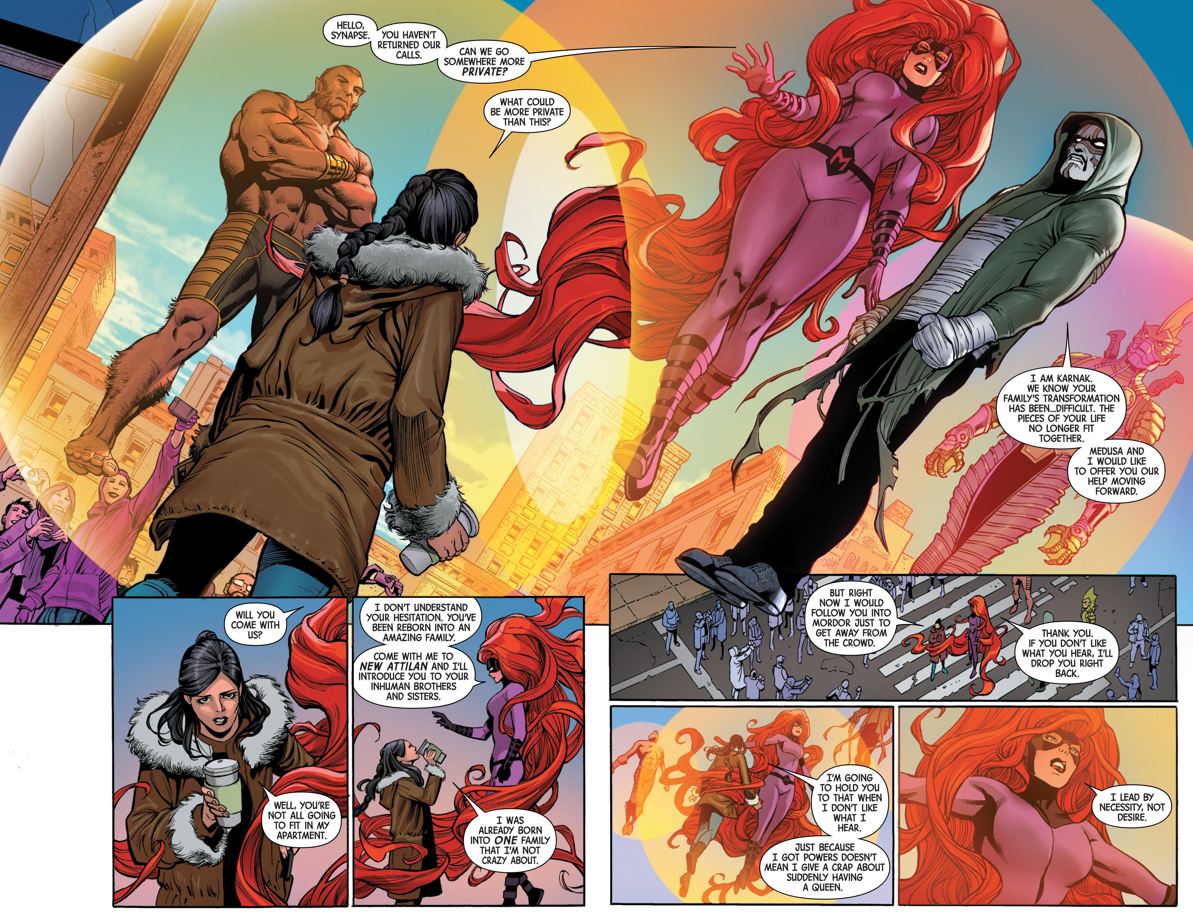 Read online Uncanny Avengers [II] comic -  Issue #6 - 8