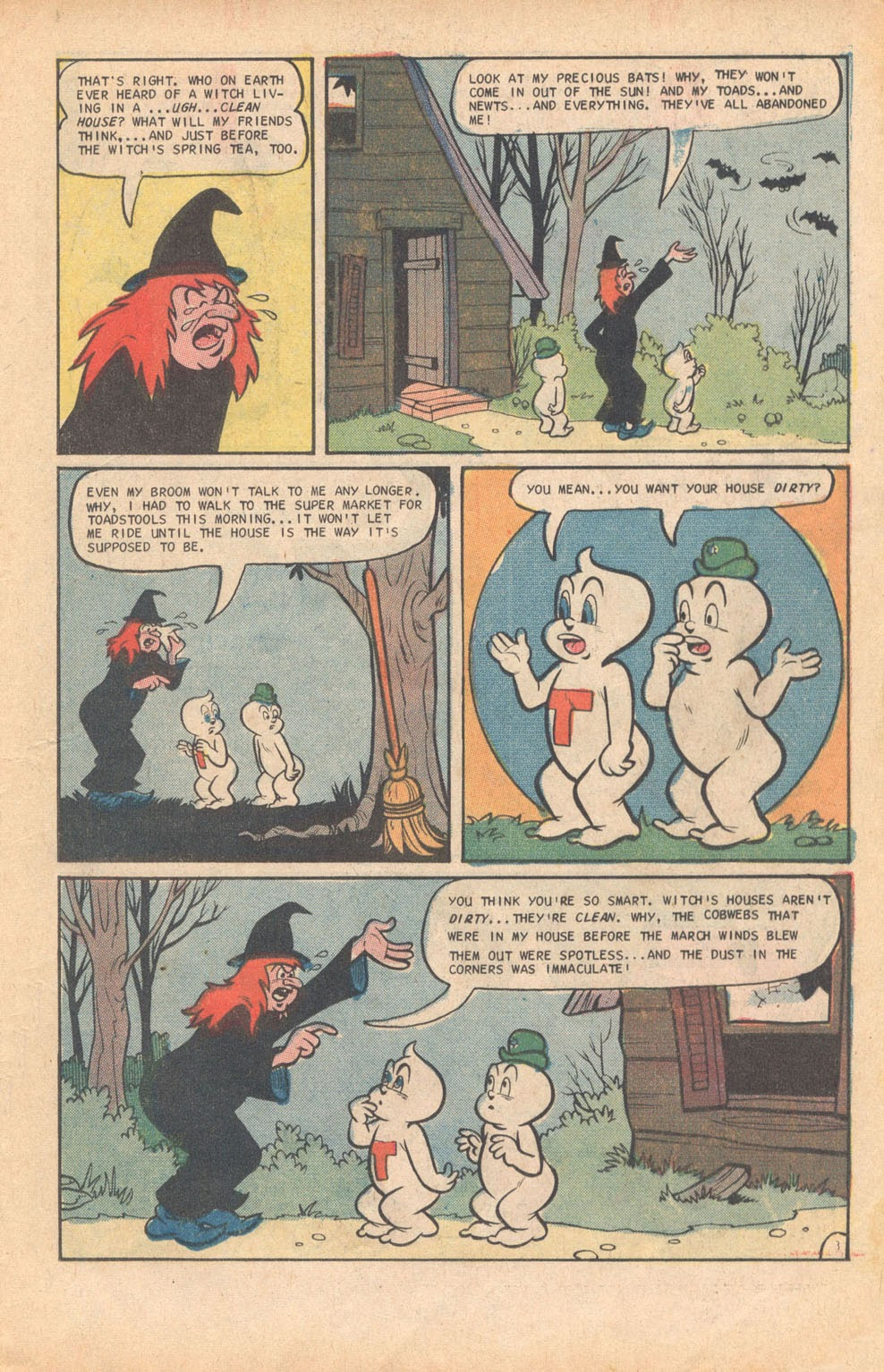 Read online Timmy the Timid Ghost comic -  Issue #9 - 19