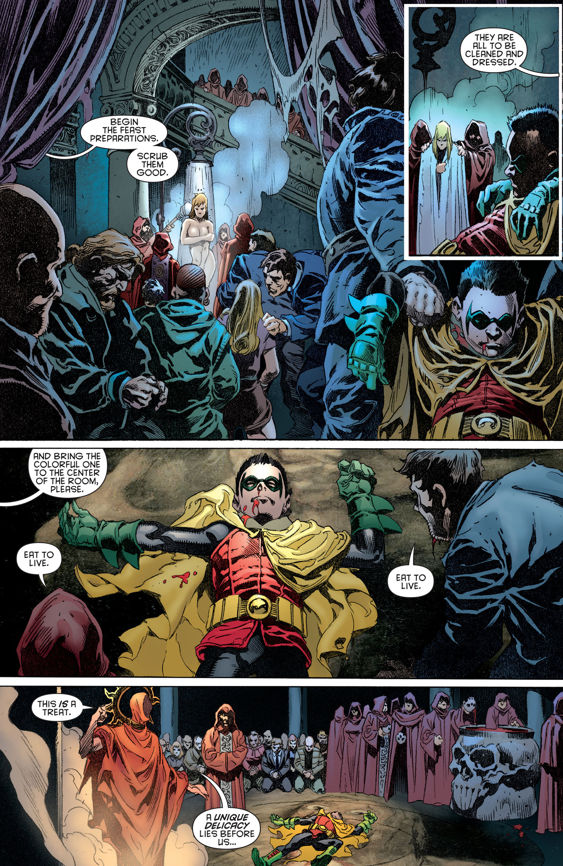 Read online Batman and Robin (2011) comic -  Issue #14 - 8