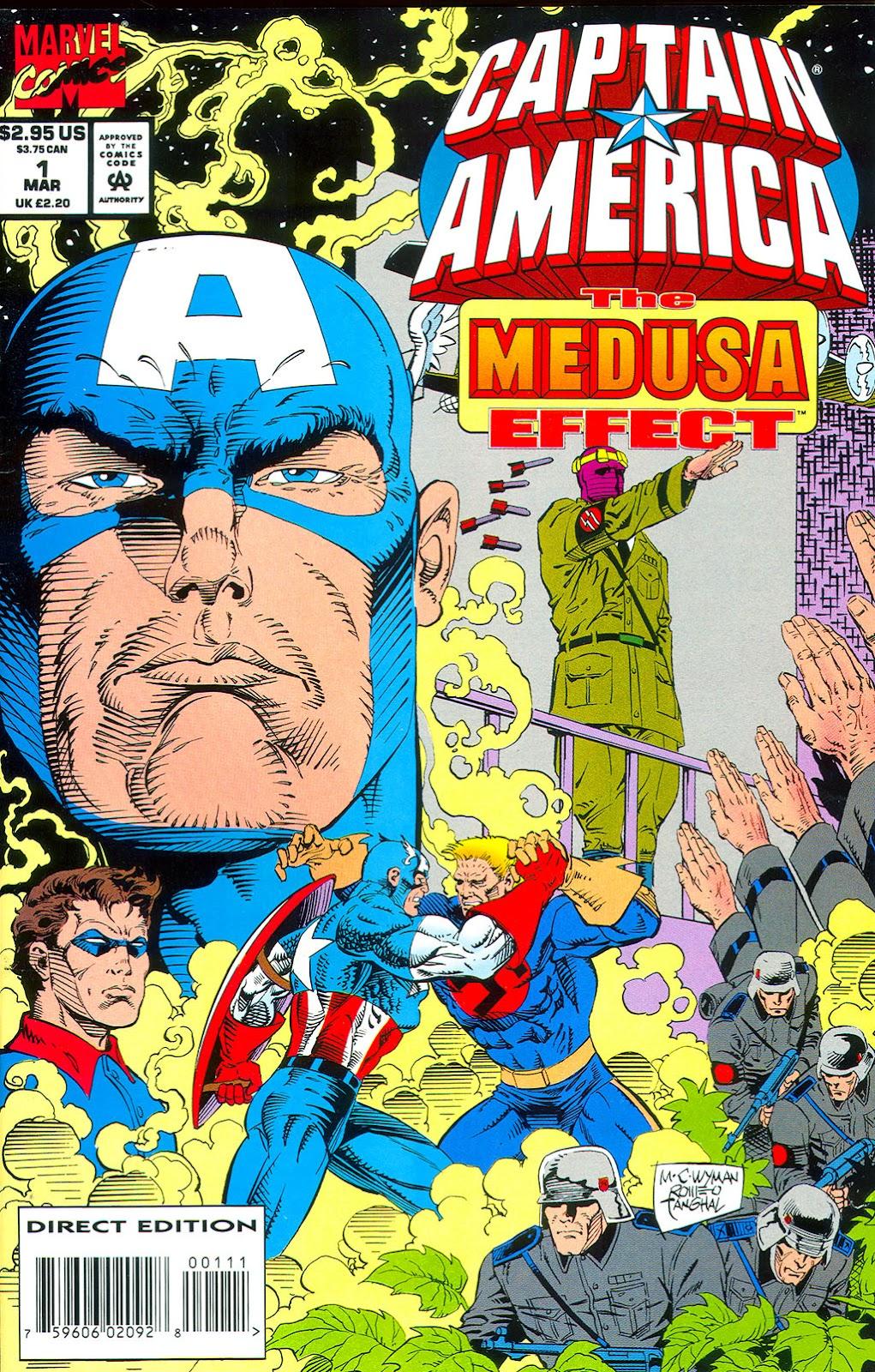 Captain America: Medusa Effect Full Page 1