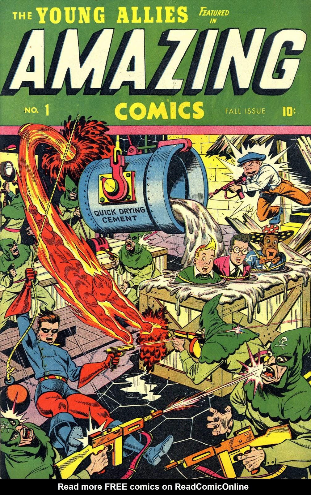 Amazing Comics Full Page 1