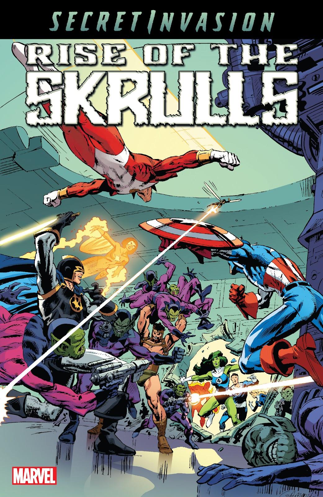 Read online Secret Invasion: Rise of the Skrulls comic -  Issue # TPB (Part 1) - 1