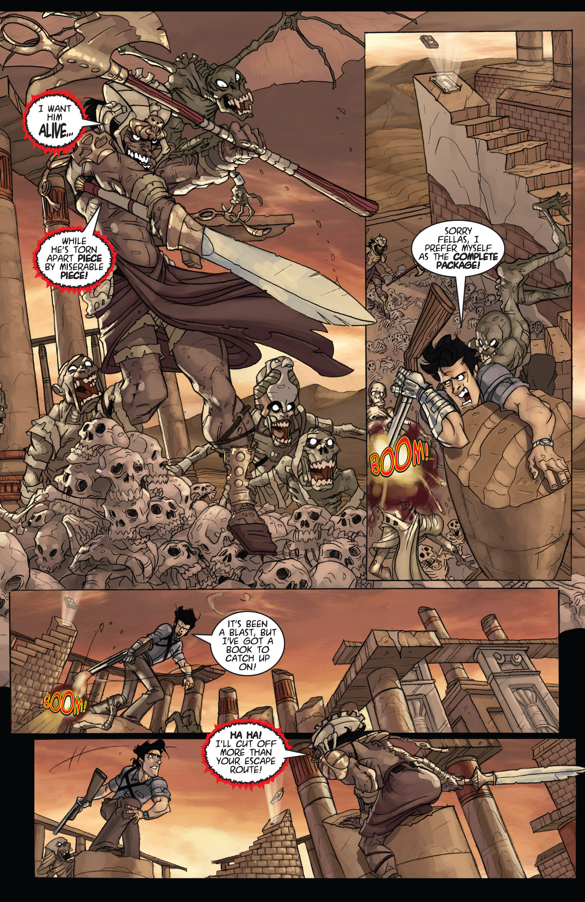 Read online Army of Darkness: Ashes 2 Ashes comic -  Issue #4 - 13
