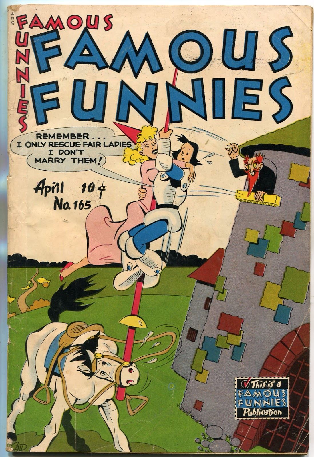 Read online Famous Funnies comic -  Issue #165 - 1