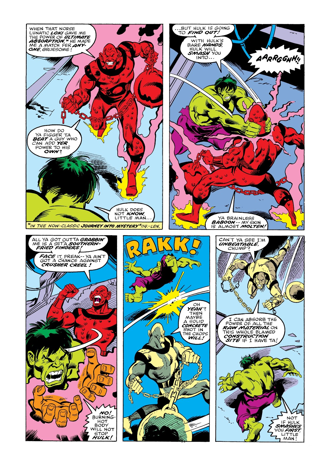 Read online Marvel Masterworks: The Incredible Hulk comic -  Issue # TPB 12 (Part 3) - 78