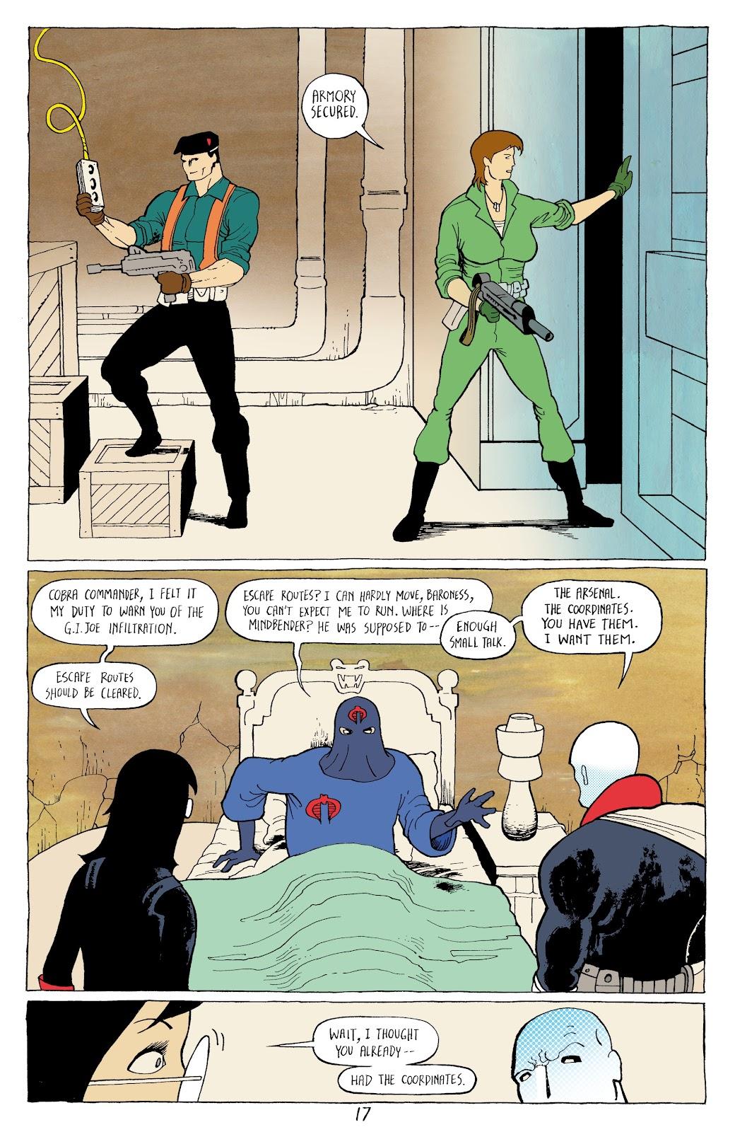 Read online G.I. Joe: Sierra Muerte comic -  Issue #3 - 19