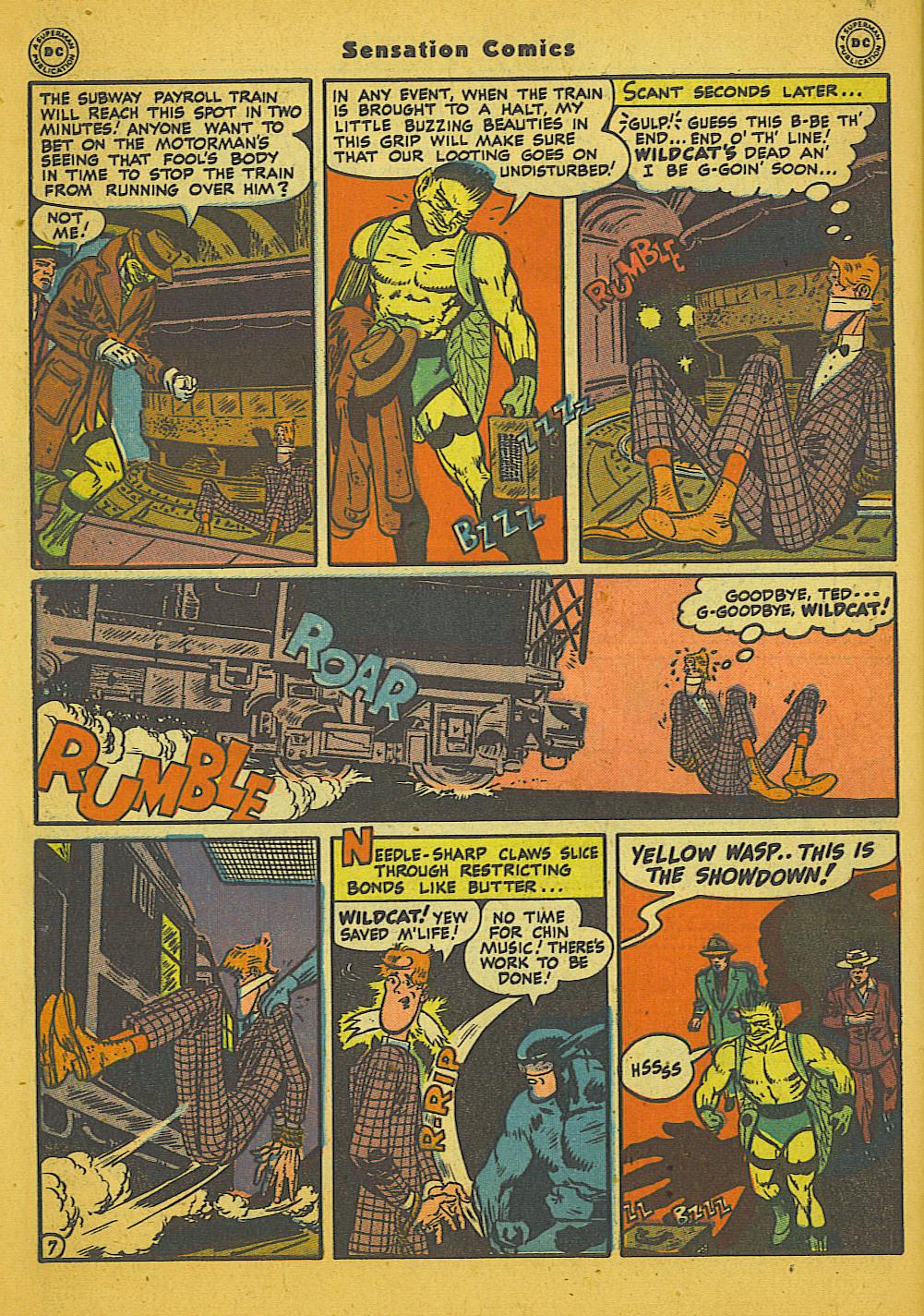 Read online Sensation (Mystery) Comics comic -  Issue #66 - 48