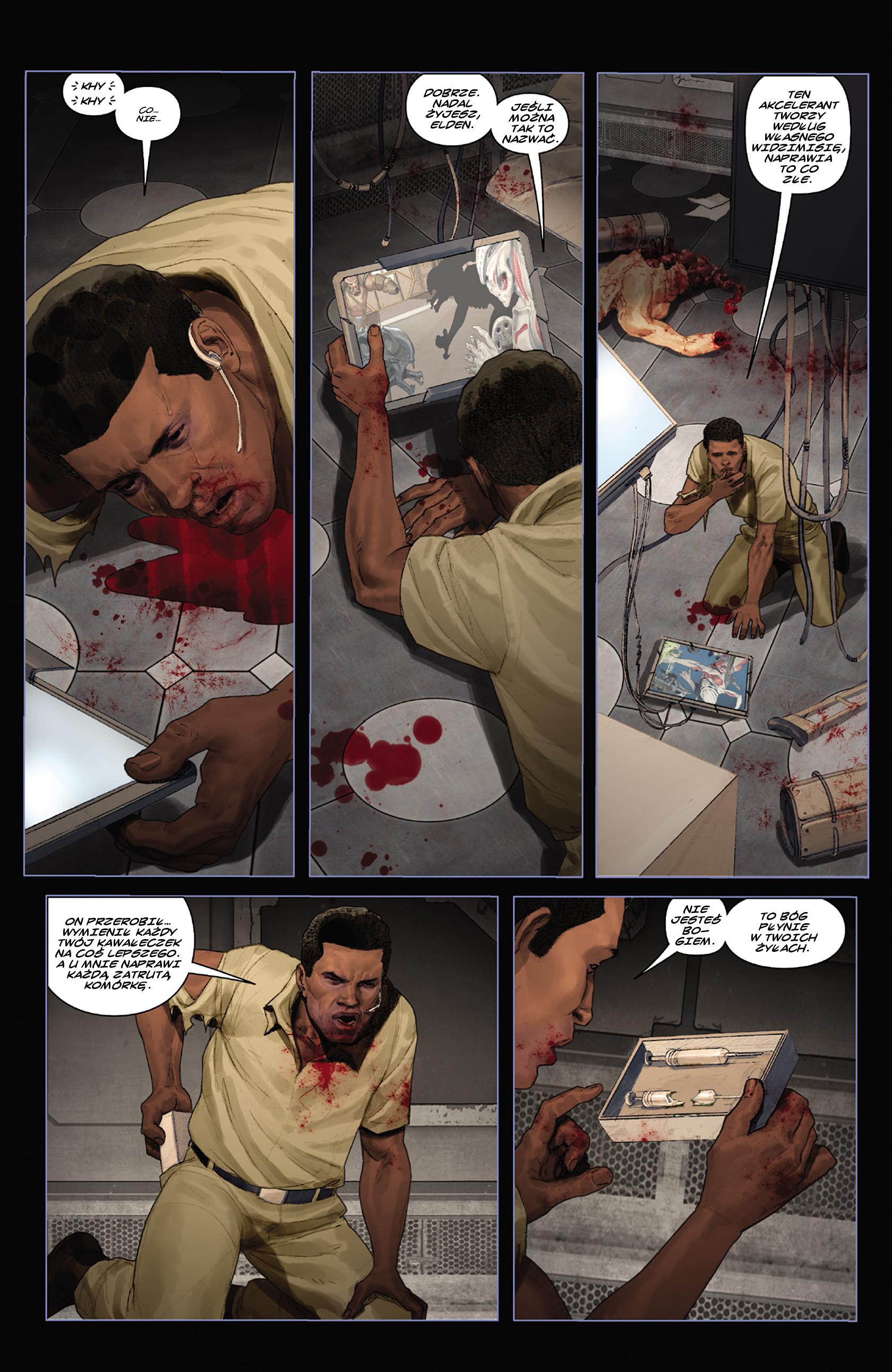 Read online Alien vs. Predator: Fire and Stone comic -  Issue #3 - 12