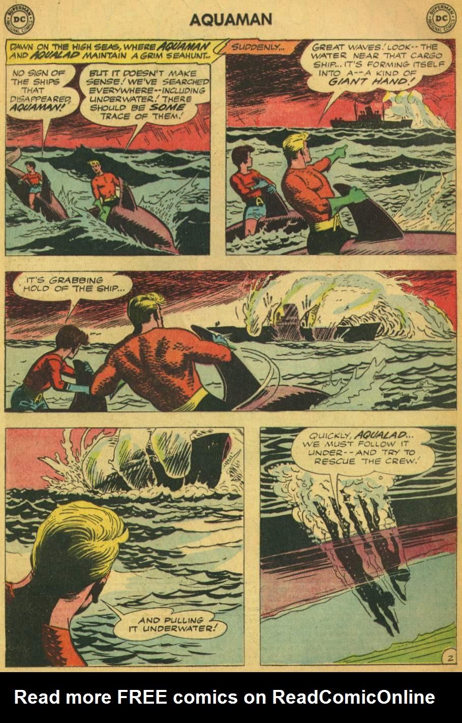 Read online Aquaman (1962) comic -  Issue #5 - 4