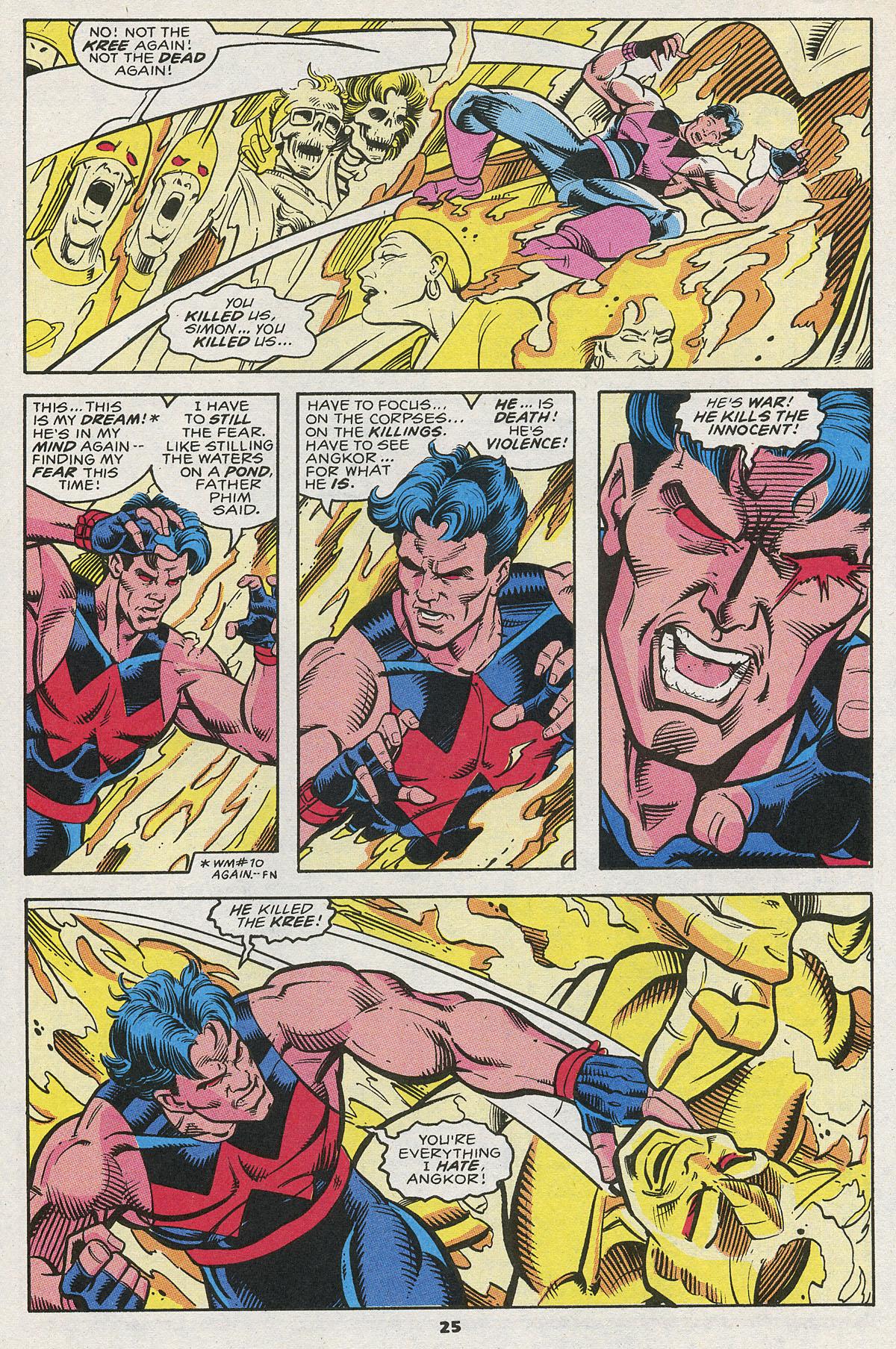 Read online Wonder Man (1991) comic -  Issue #12 - 19