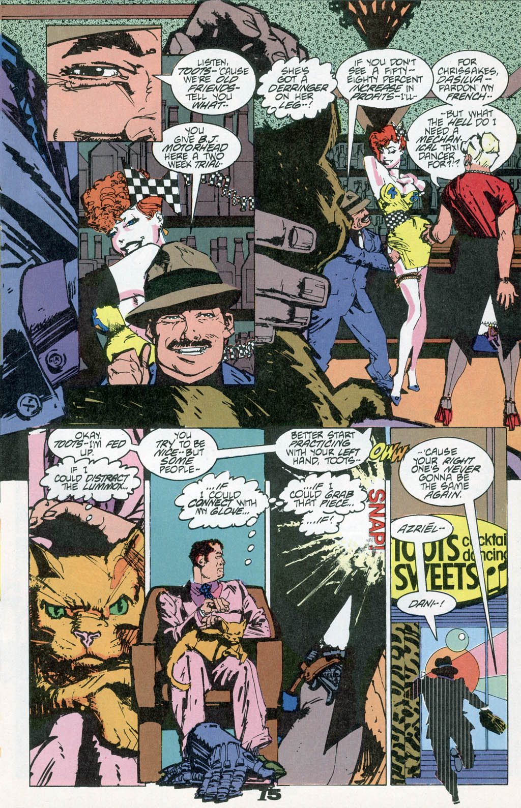 Read online American Flagg! comic -  Issue # _Special 1 - 17