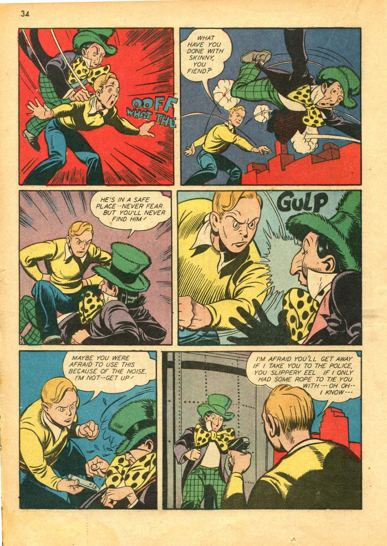 Read online Shadow Comics comic -  Issue #30 - 34
