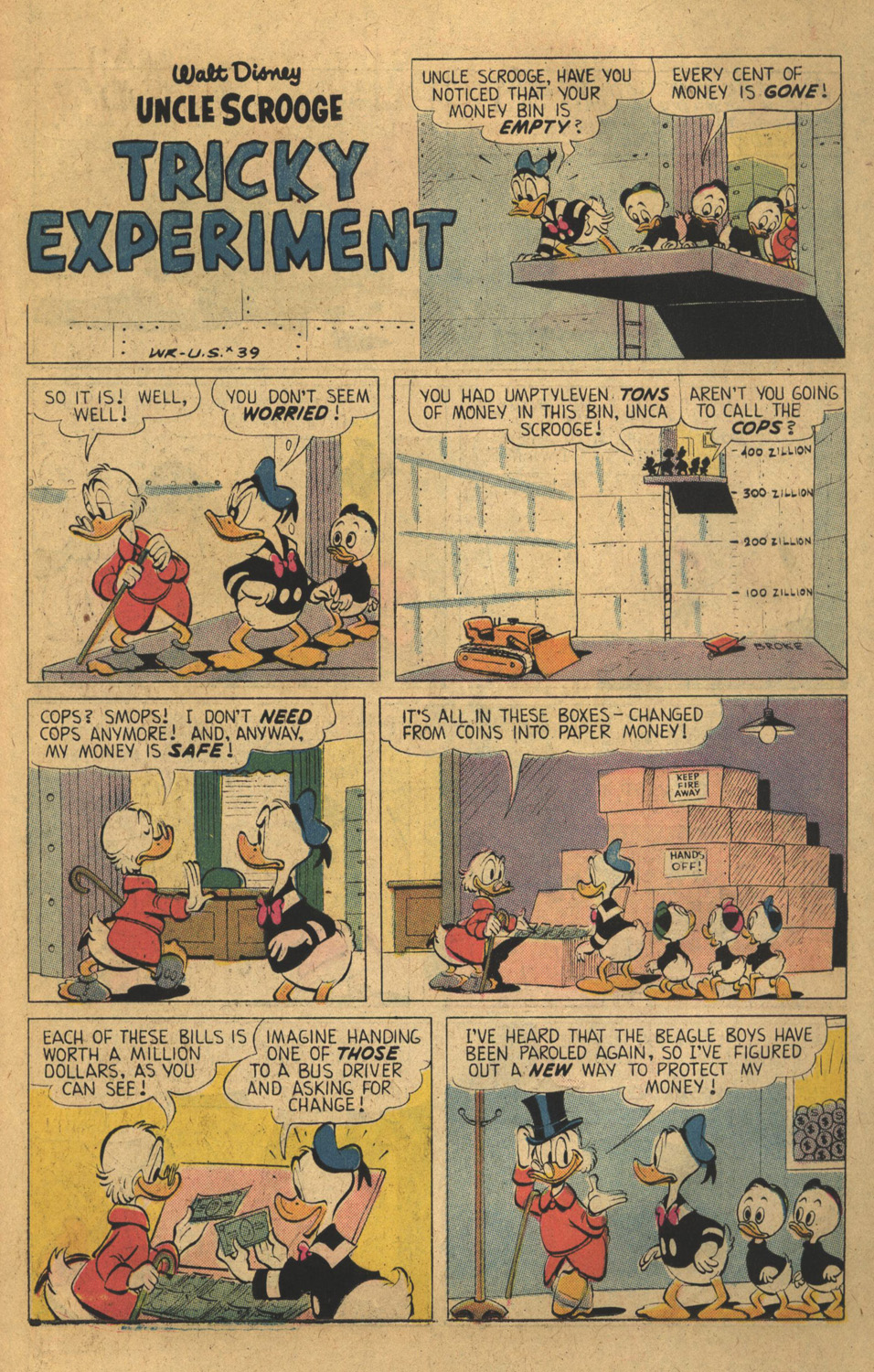 Read online Uncle Scrooge (1953) comic -  Issue #136 - 15