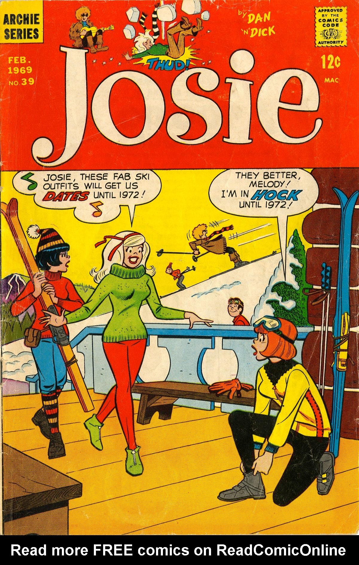 Read online She's Josie comic -  Issue #39 - 1