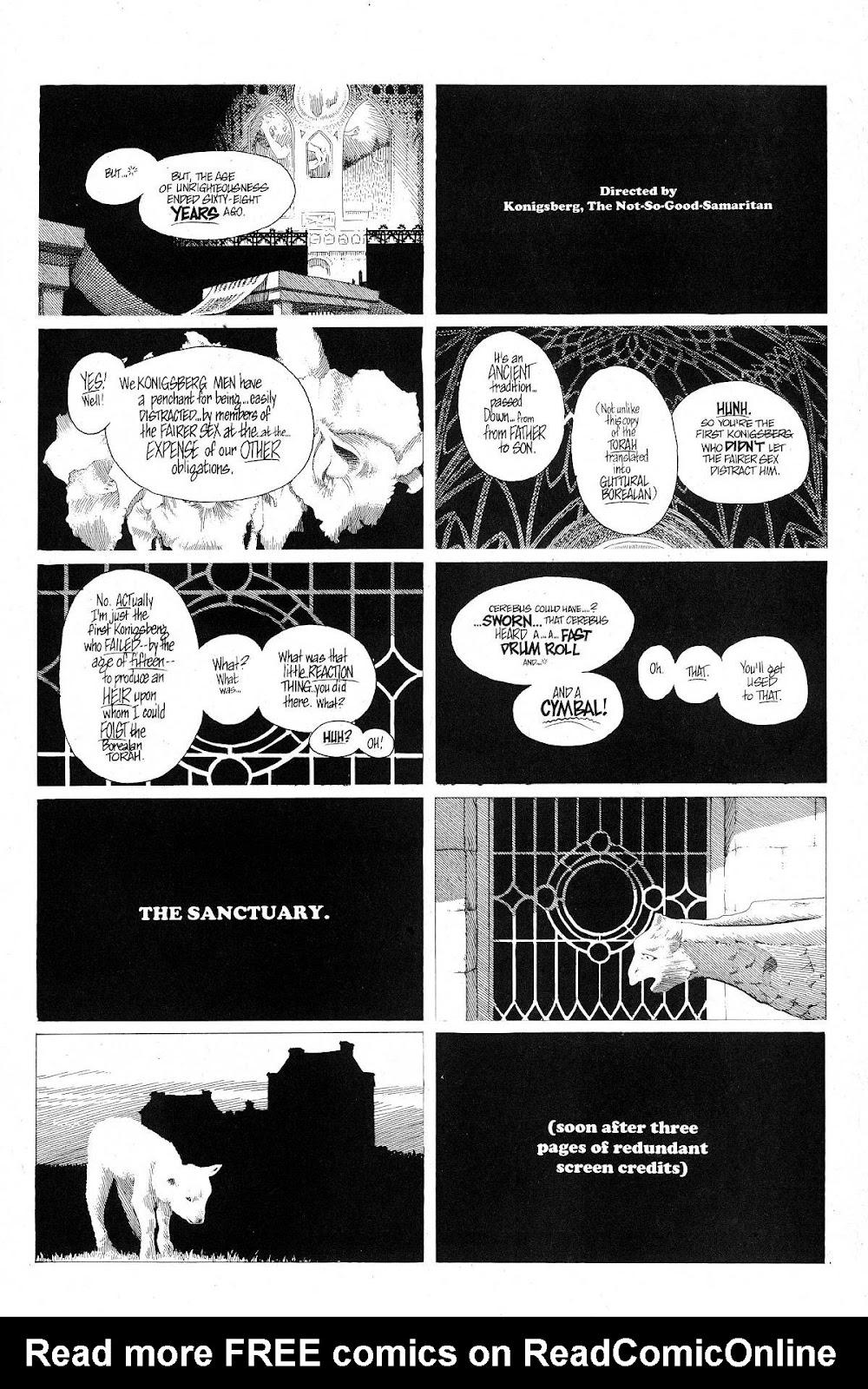 Cerebus Issue #280 #279 - English 5