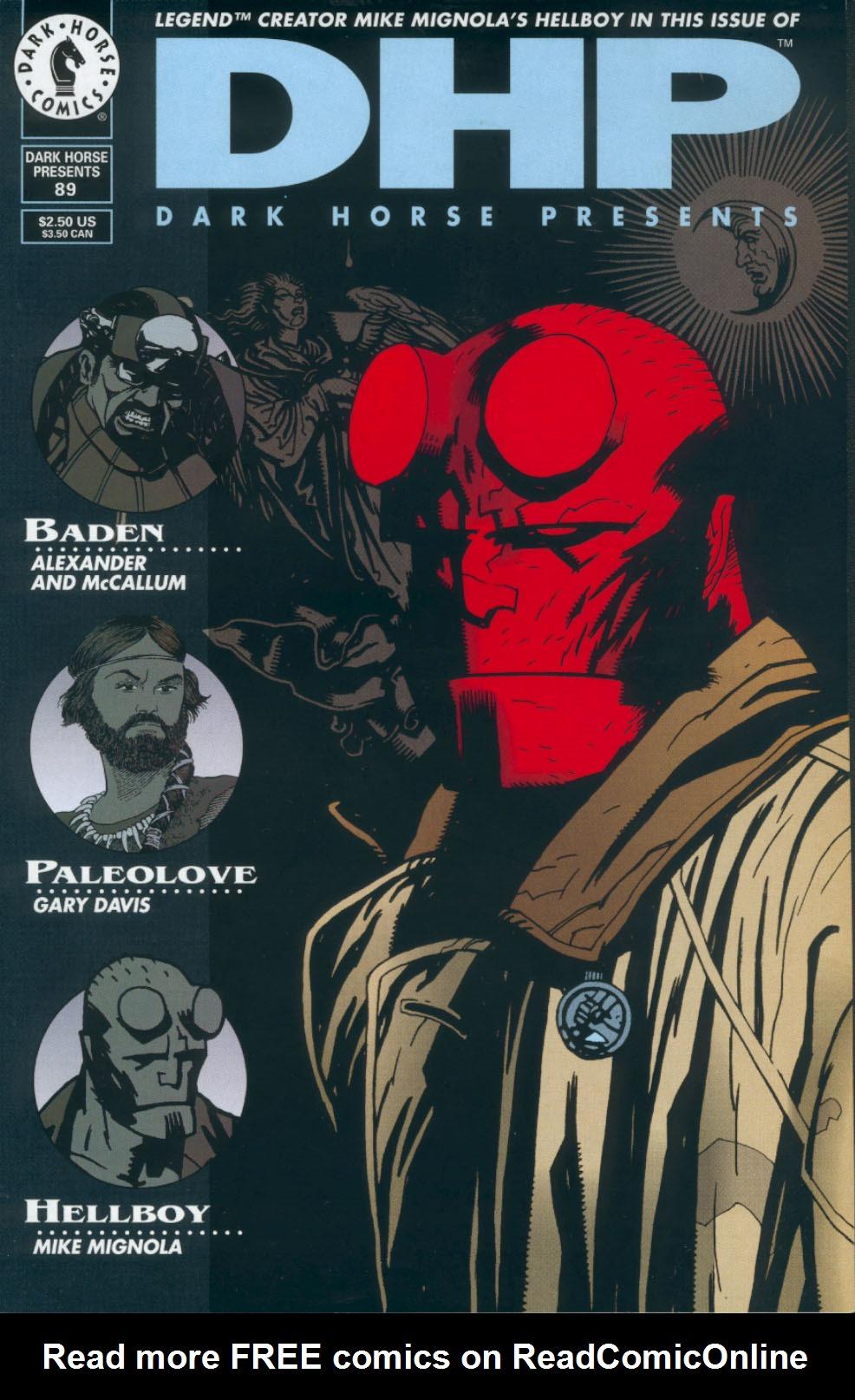 Dark Horse Presents (1986) 89 Page 1