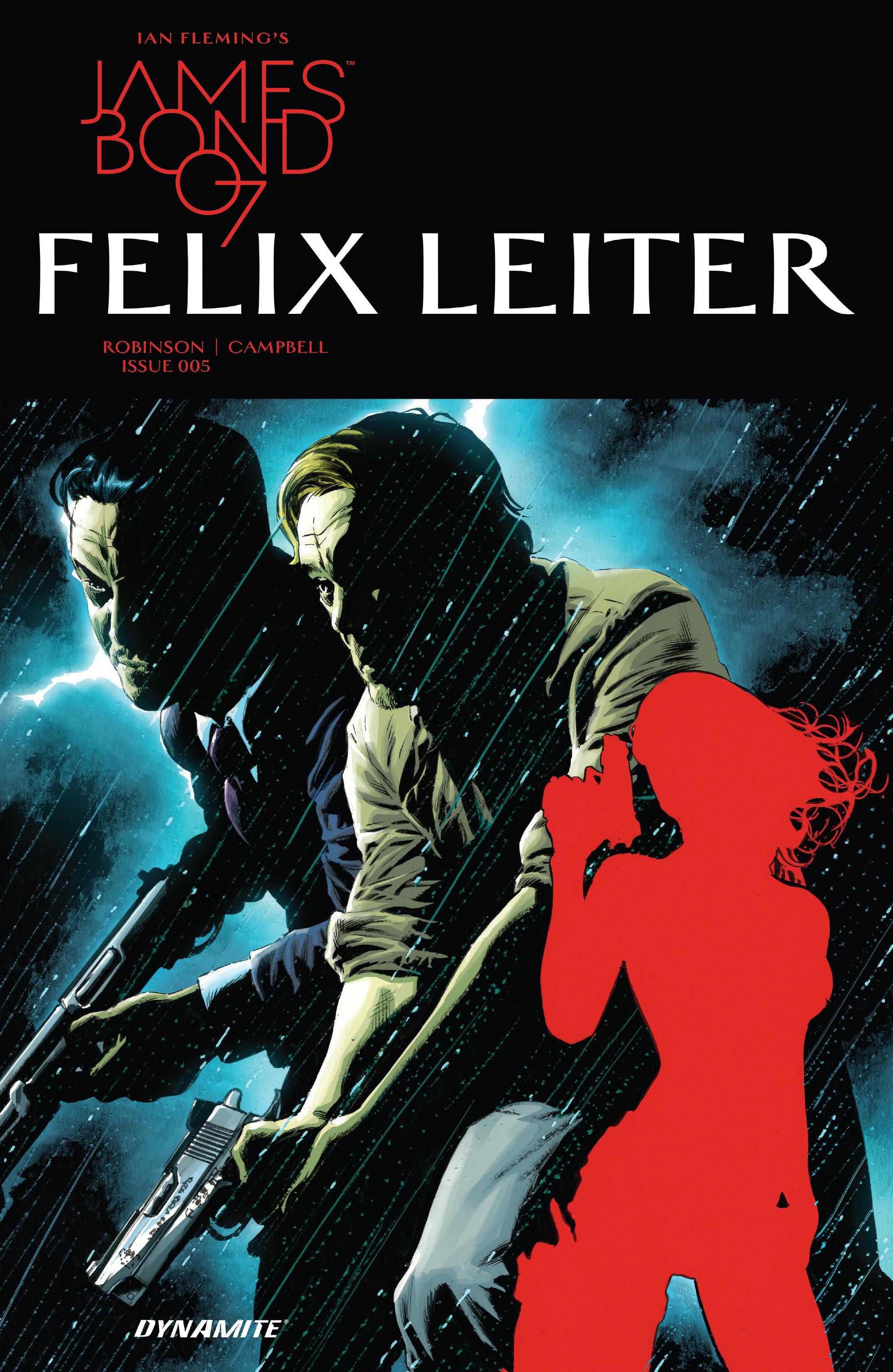 Read online James Bond: Felix Leiter comic -  Issue #5 - 1