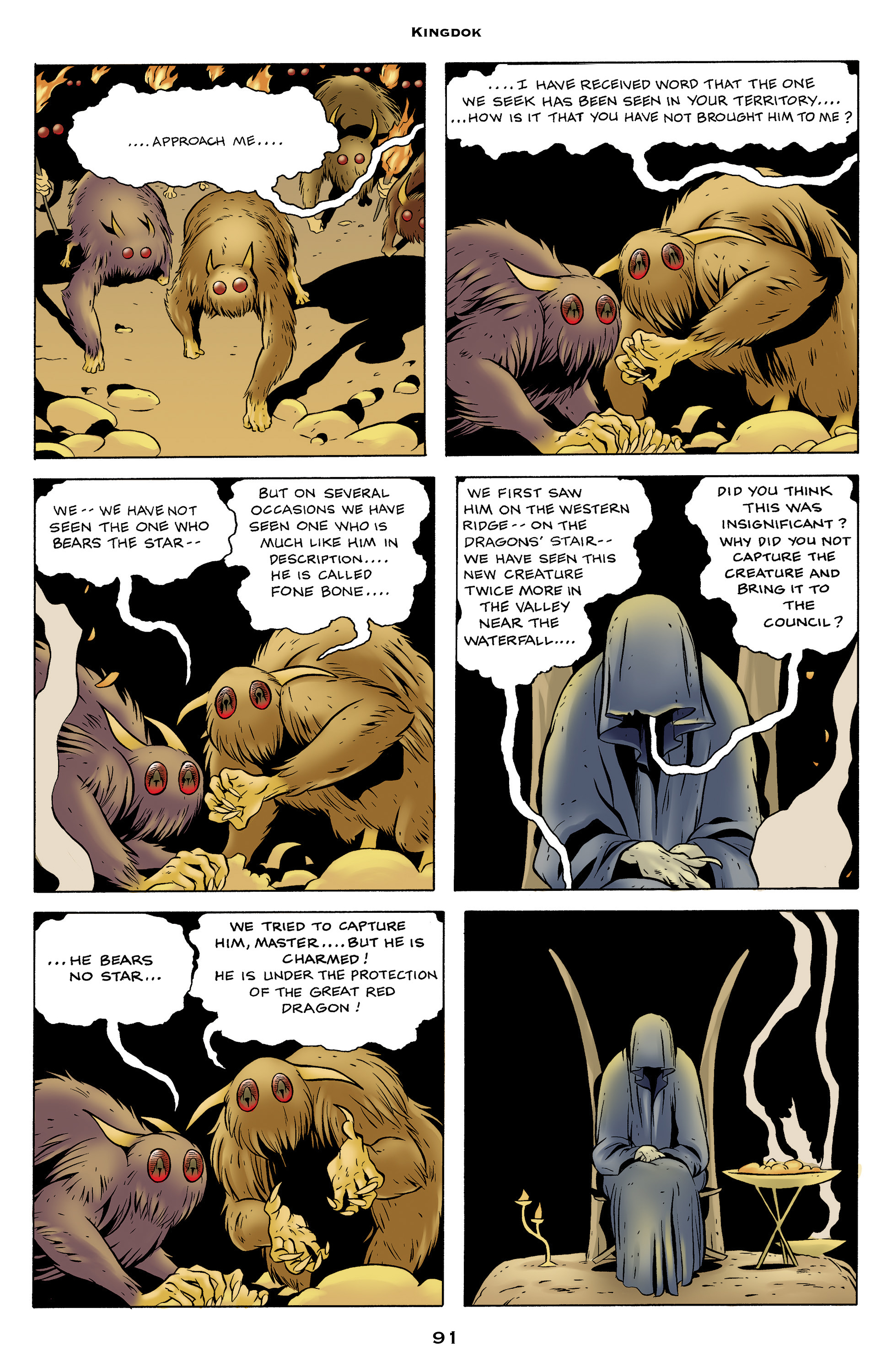 Read online Bone: Out From Boneville comic -  Issue # TPB - 91