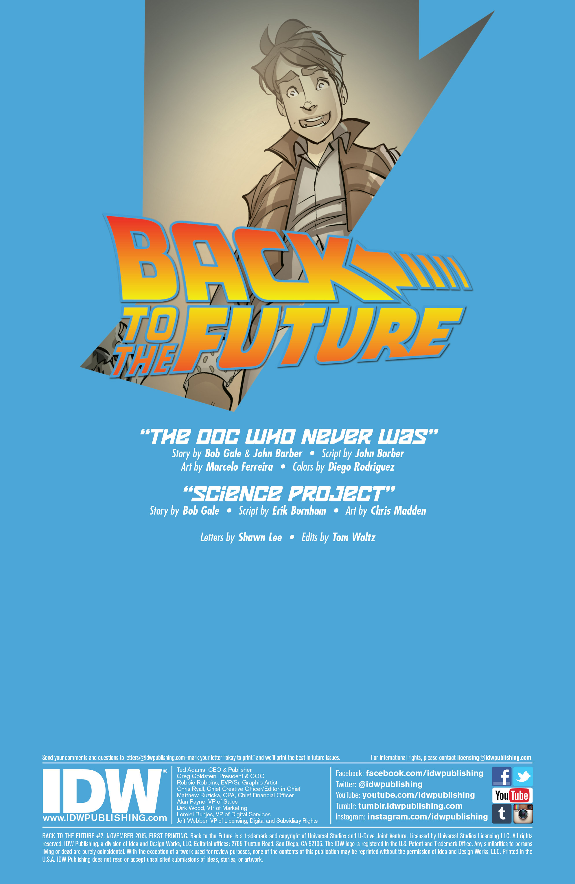 Back to the Future (2015) 2 Page 2