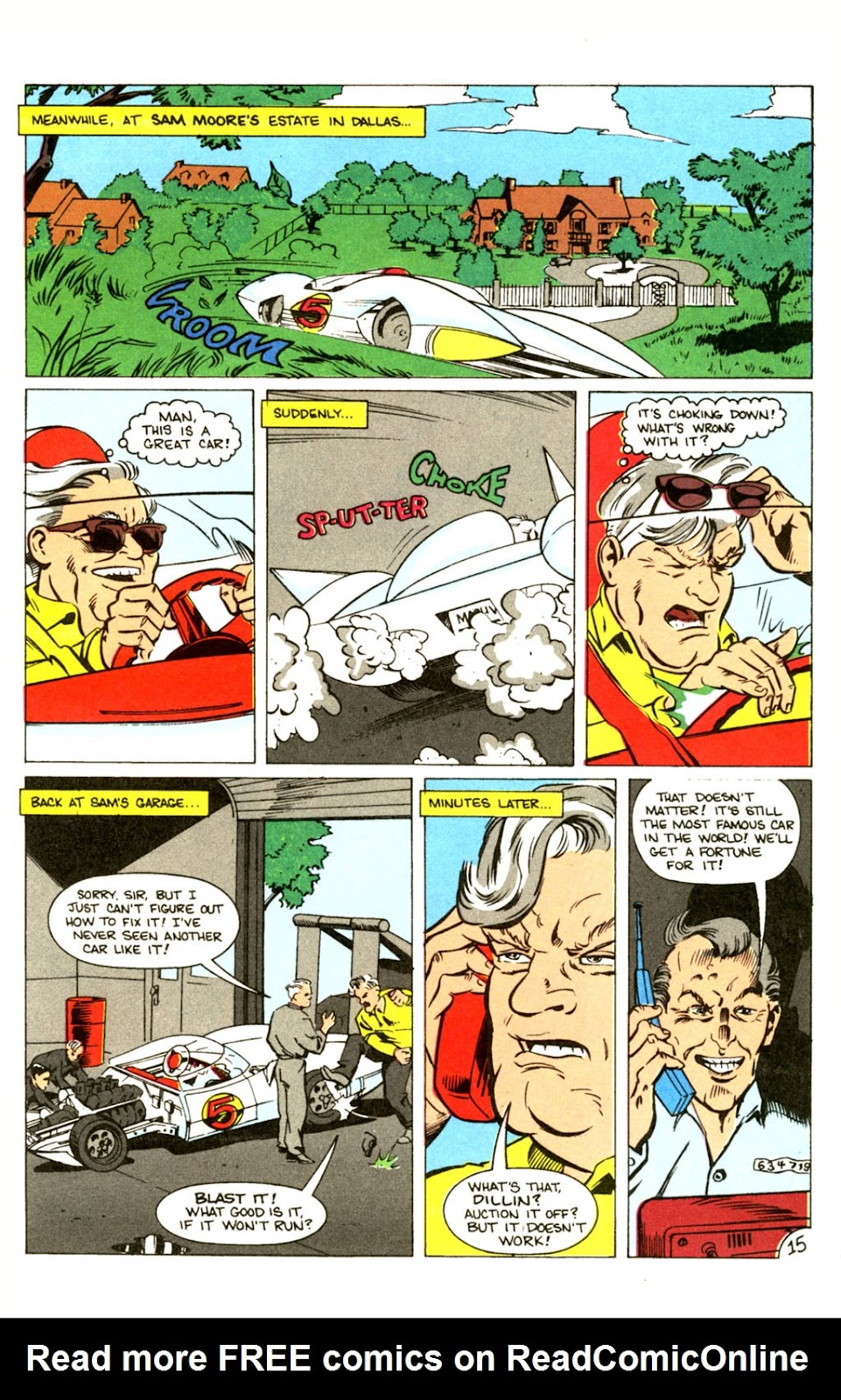 Speed Racer (1987) issue 30 - Page 20