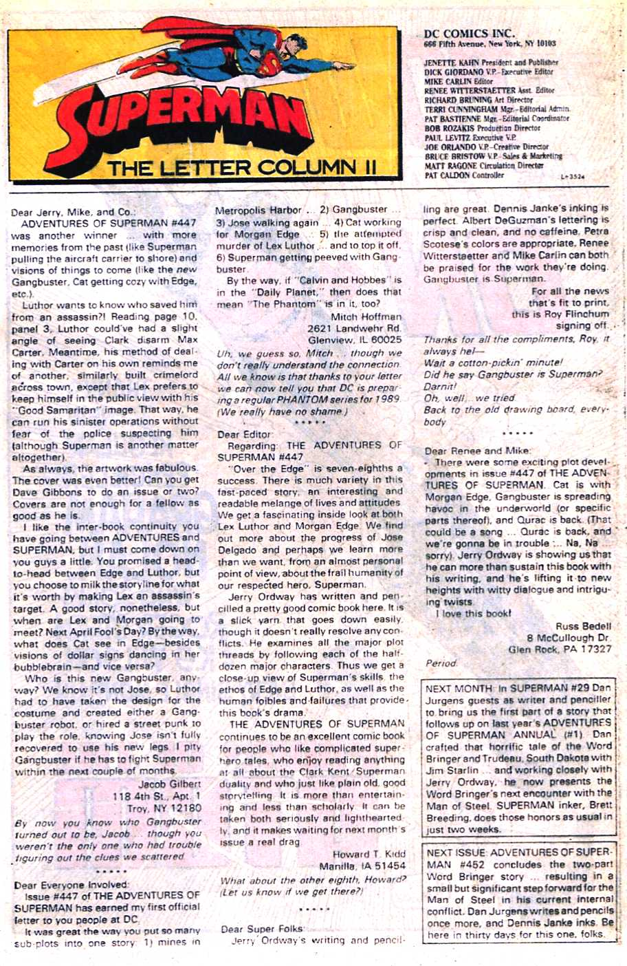 Read online Adventures of Superman (1987) comic -  Issue #451 - 24