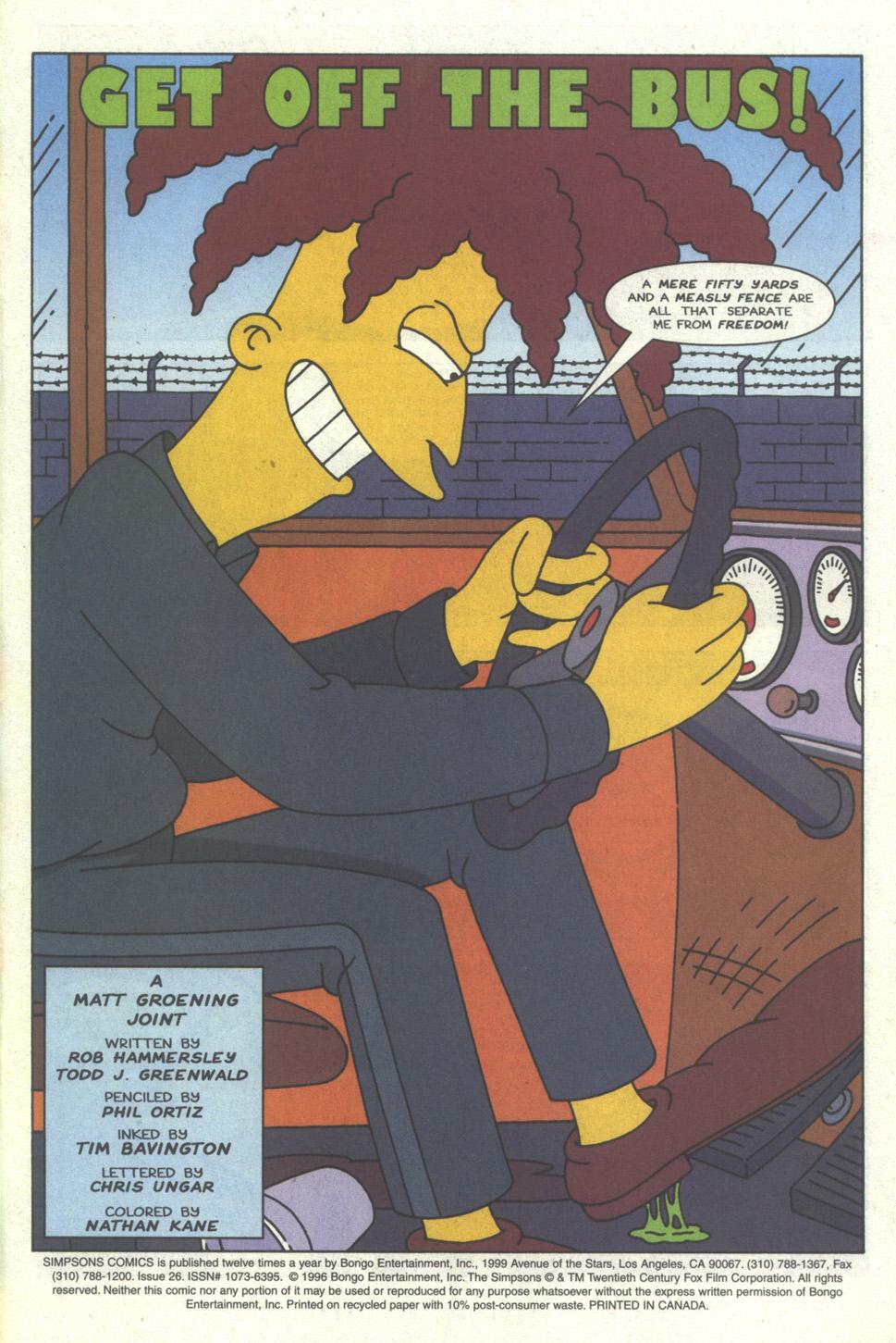 Read online Simpsons Comics comic -  Issue #26 - 2