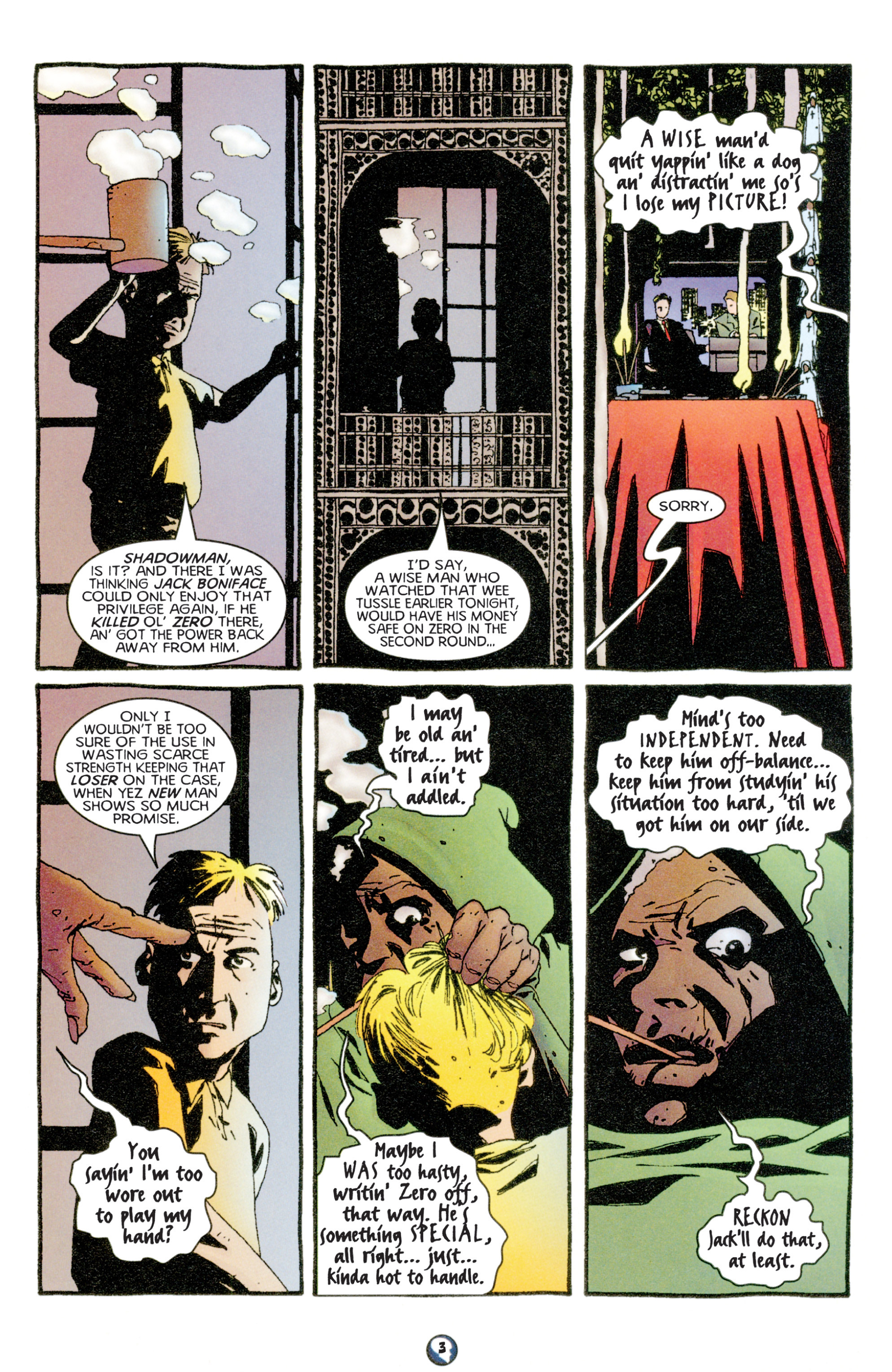 Read online Shadowman (1997) comic -  Issue #6 - 4