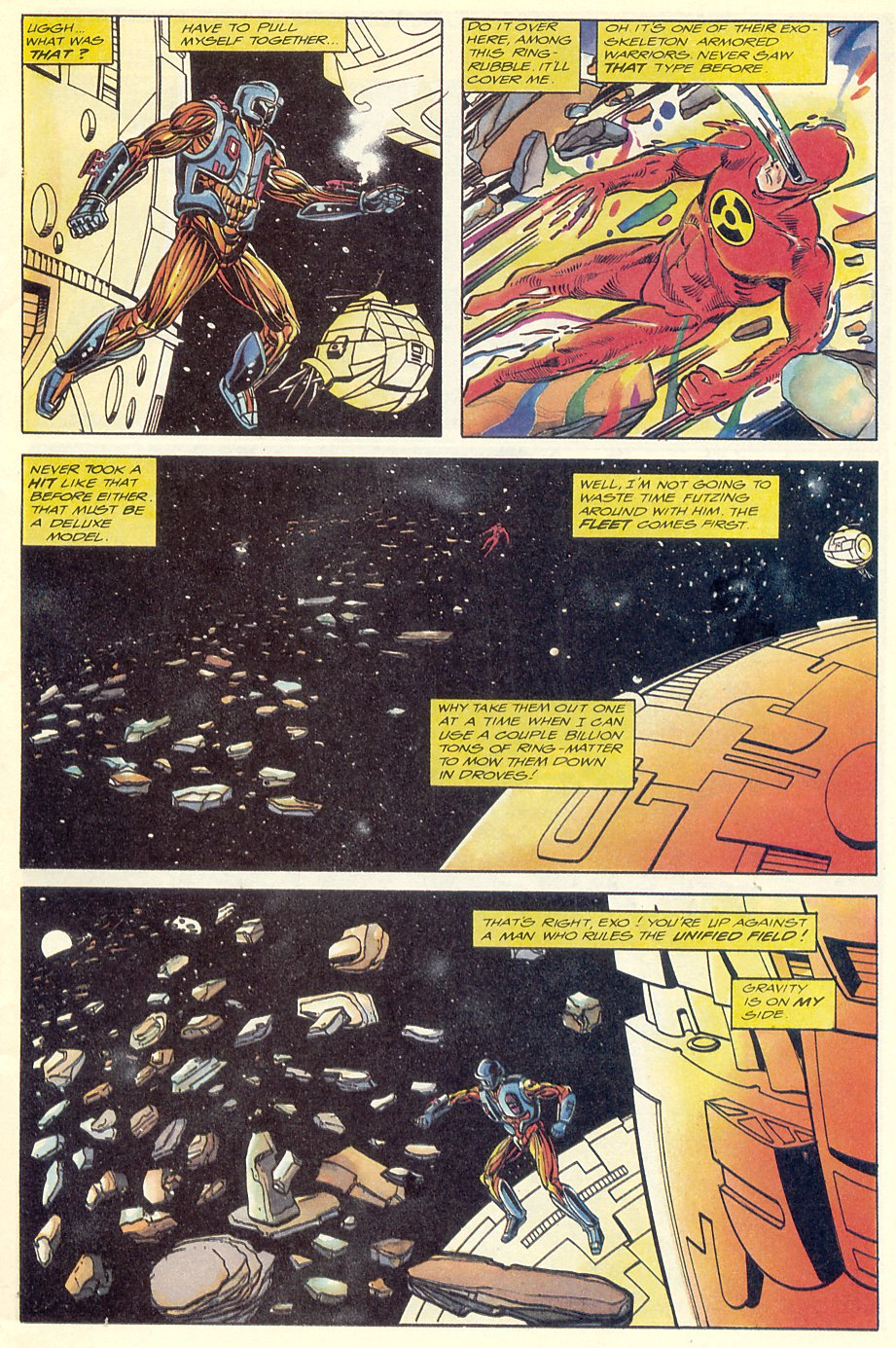 Read online Solar, Man of the Atom comic -  Issue #7 - 7