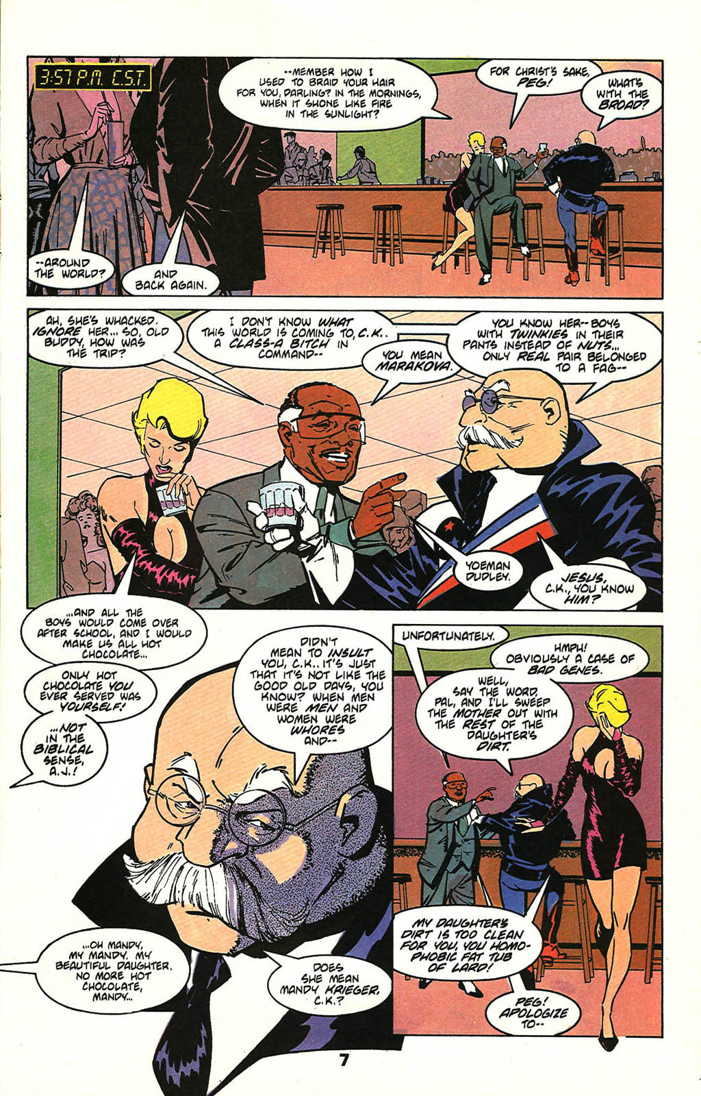 Read online American Flagg! comic -  Issue #47 - 9