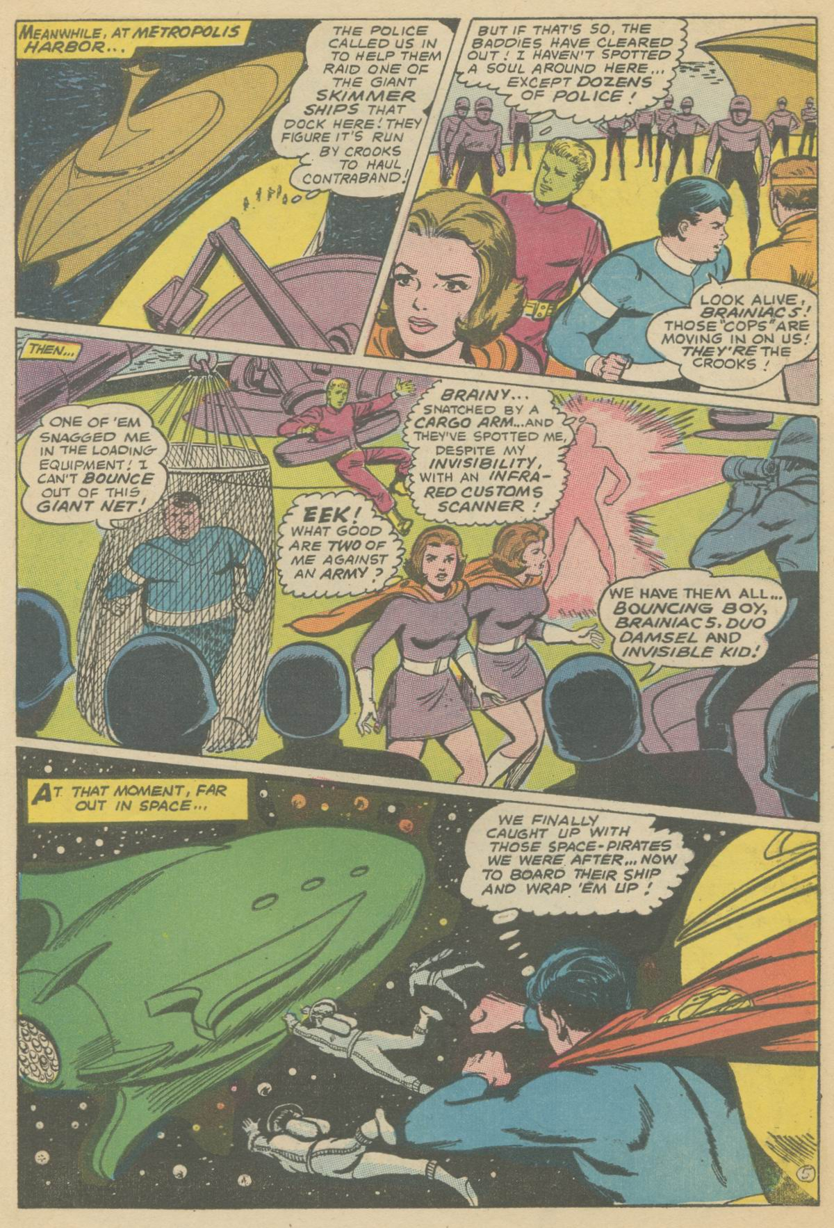 Read online Adventure Comics (1938) comic -  Issue #374 - 7