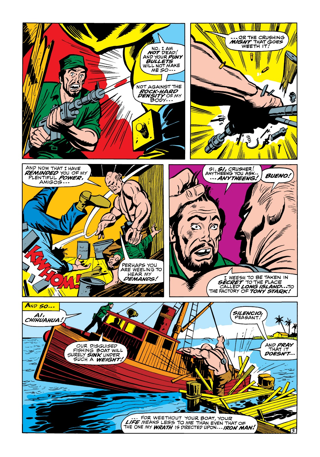 Read online Marvel Masterworks: The Invincible Iron Man comic -  Issue # TPB 5 (Part 1) - 94
