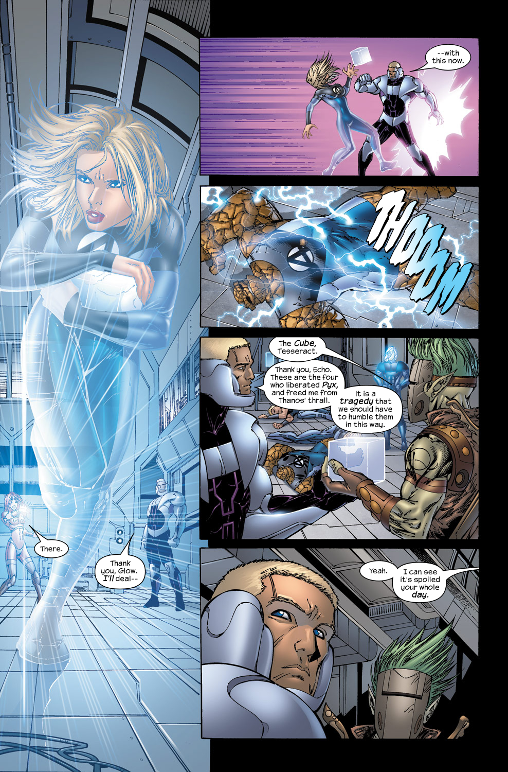 Read online Ultimate Fantastic Four (2004) comic -  Issue #50 - 18