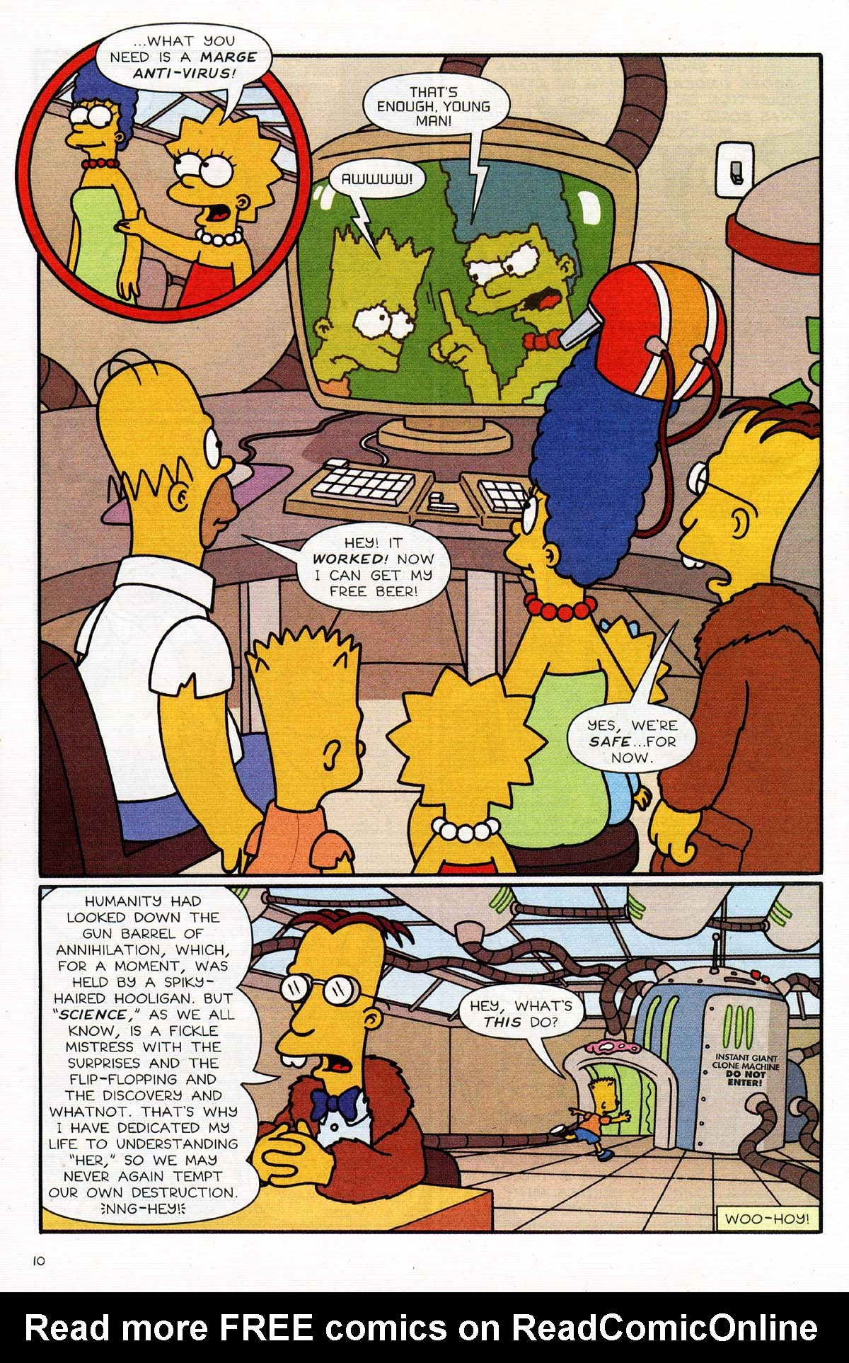 Read online Simpsons Comics Presents Bart Simpson comic -  Issue #15 - 12