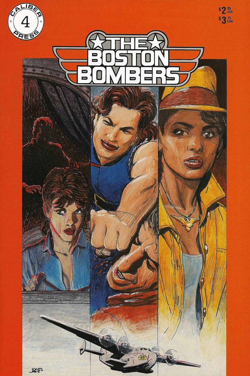 Boston Bombers 4 Page 1