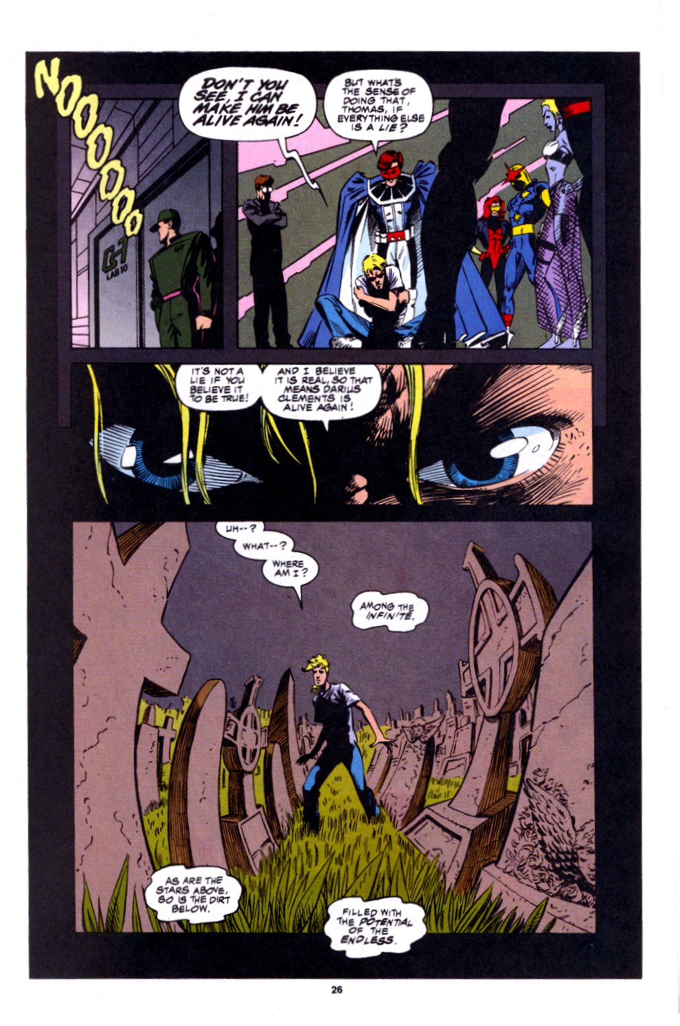 The New Warriors Issue #53 #57 - English 18