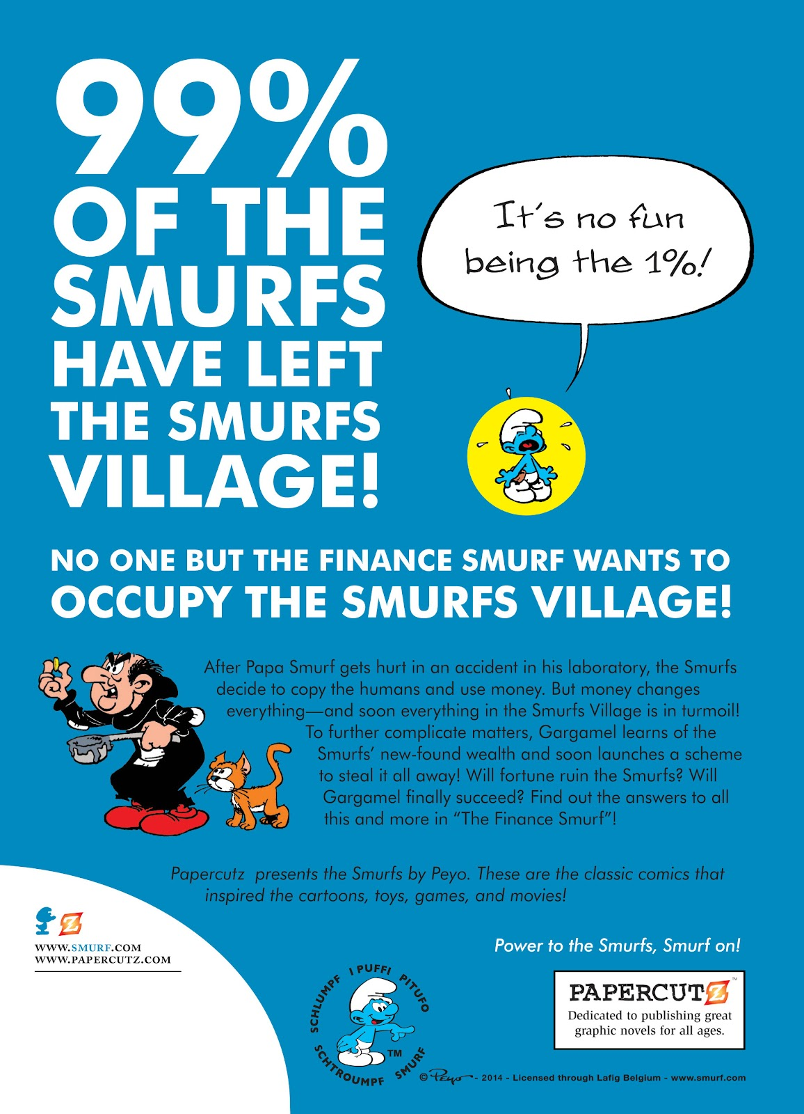 Read online The Smurfs comic -  Issue #18 - 49