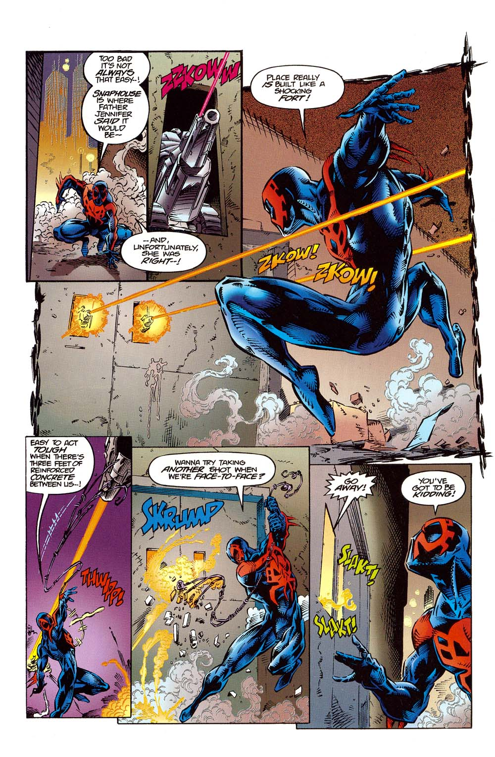 Read online 2099 Unlimited comic -  Issue #10 - 15