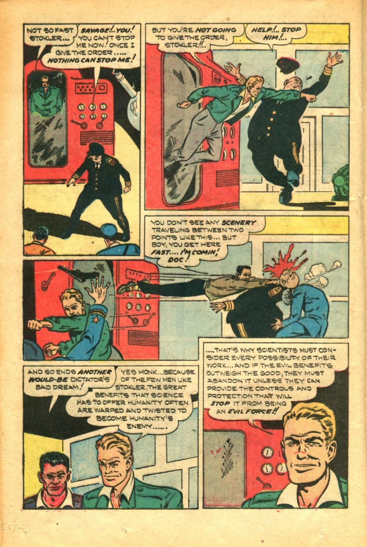 Read online Shadow Comics comic -  Issue #91 - 30