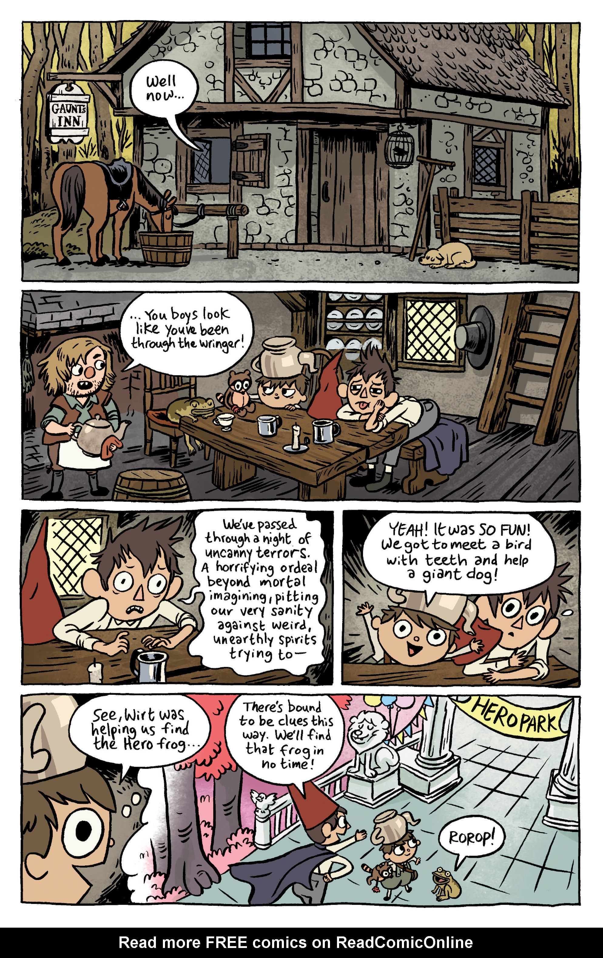 Read Online Over The Garden Wall 2016 Comic Issue 6