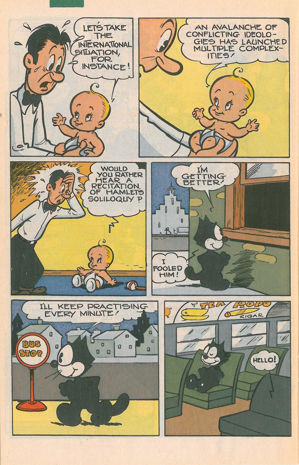 Read online Felix the Cat comic -  Issue #4 - 27